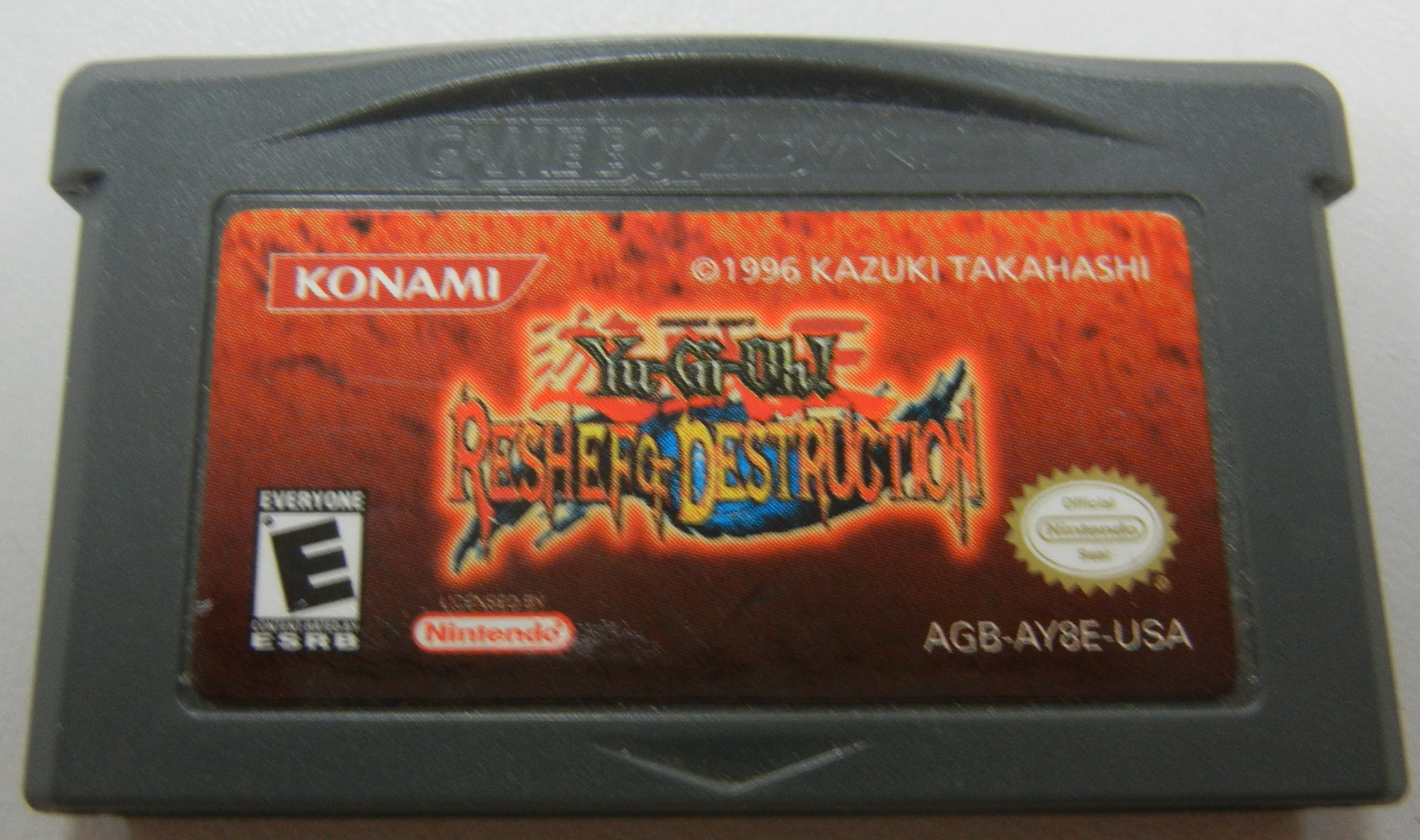 YU-GI-OH! RESHEF OF DESTRUCTION GAMEBOY ADVANCE GAMES