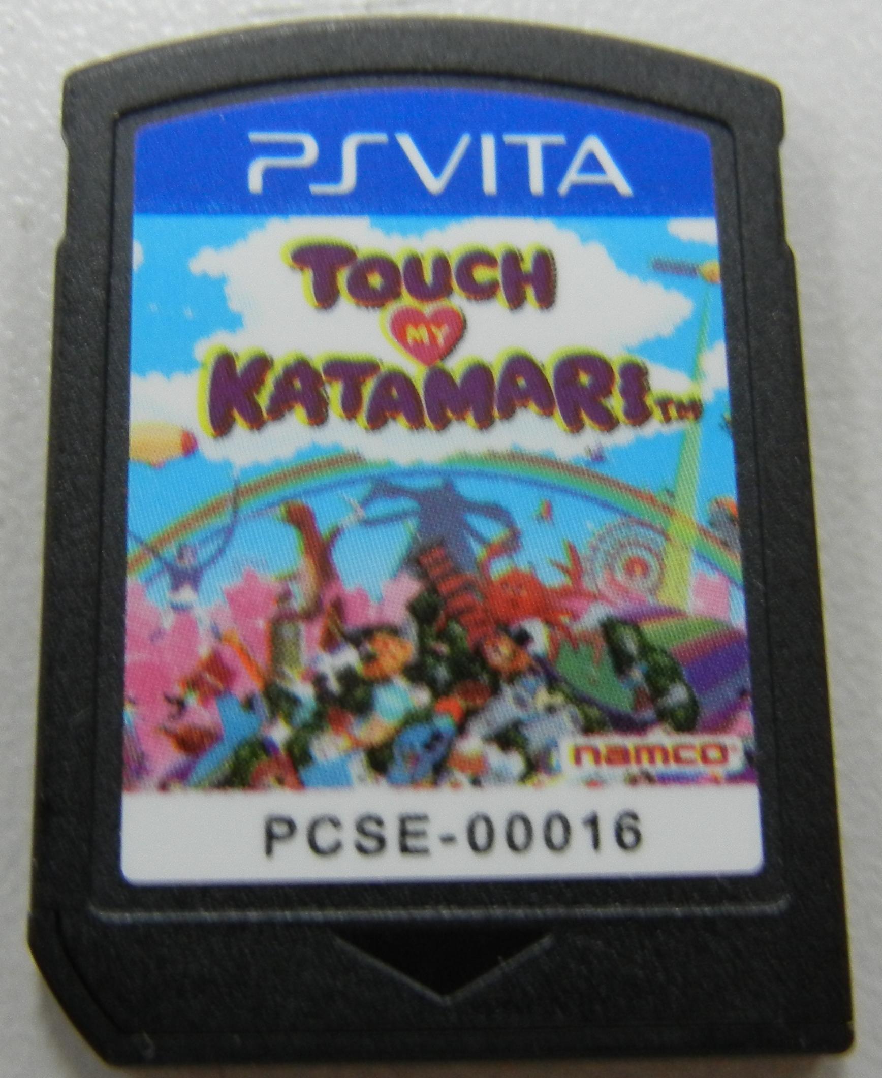 TOUCH MY KATAMARI PSVITA GAMES