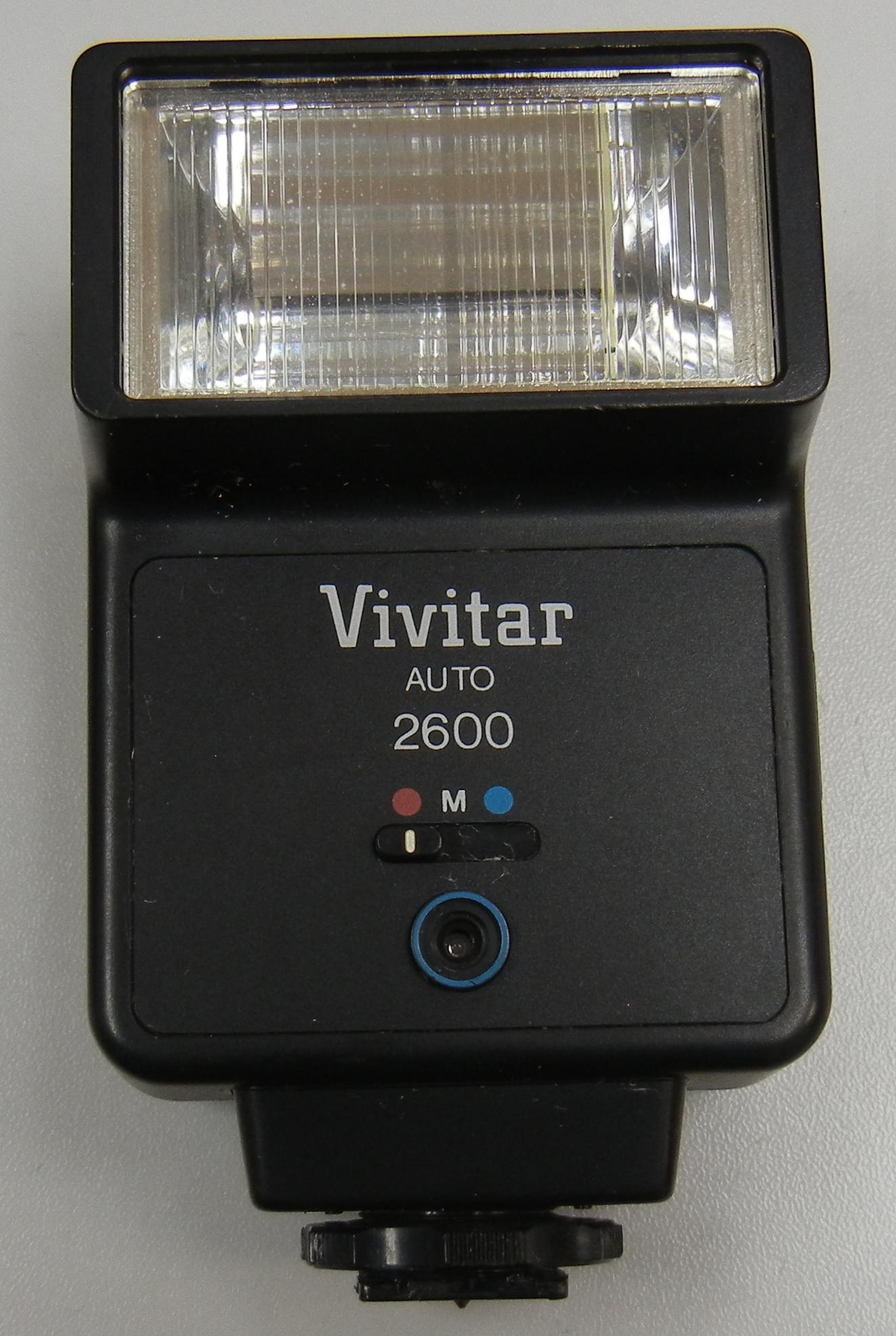 VIVITAR - 2600 - AUTO FLASH
