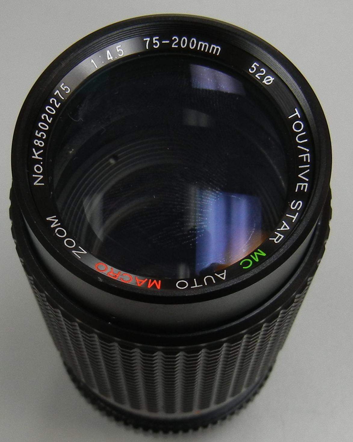 TOU/FIVE - MC AUTO MACRO 1:45 75-200MM CAMERA LENS