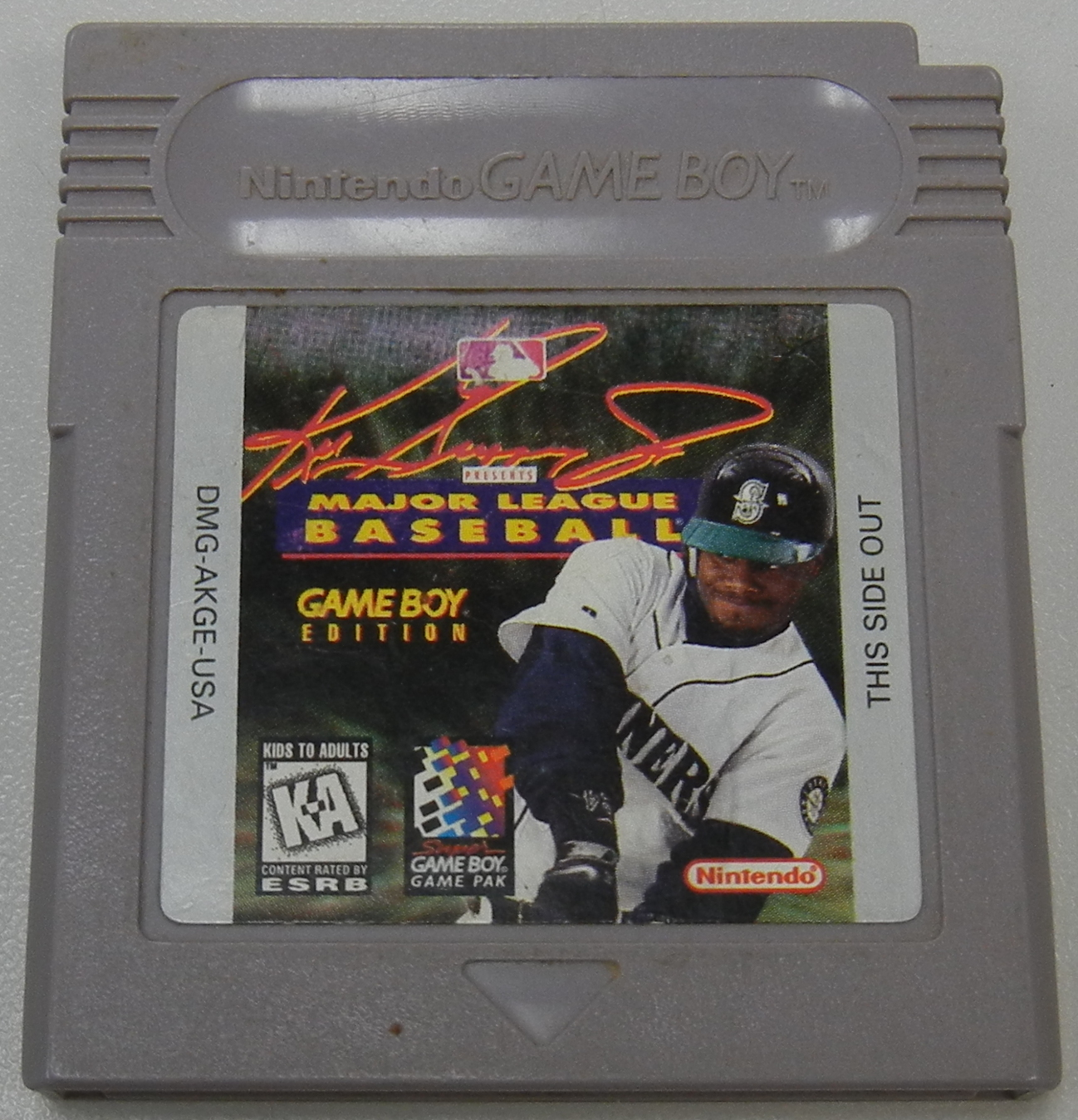 GAME BOY KEN GRIFFY JR MAJOR LEAGUE BASEBALL