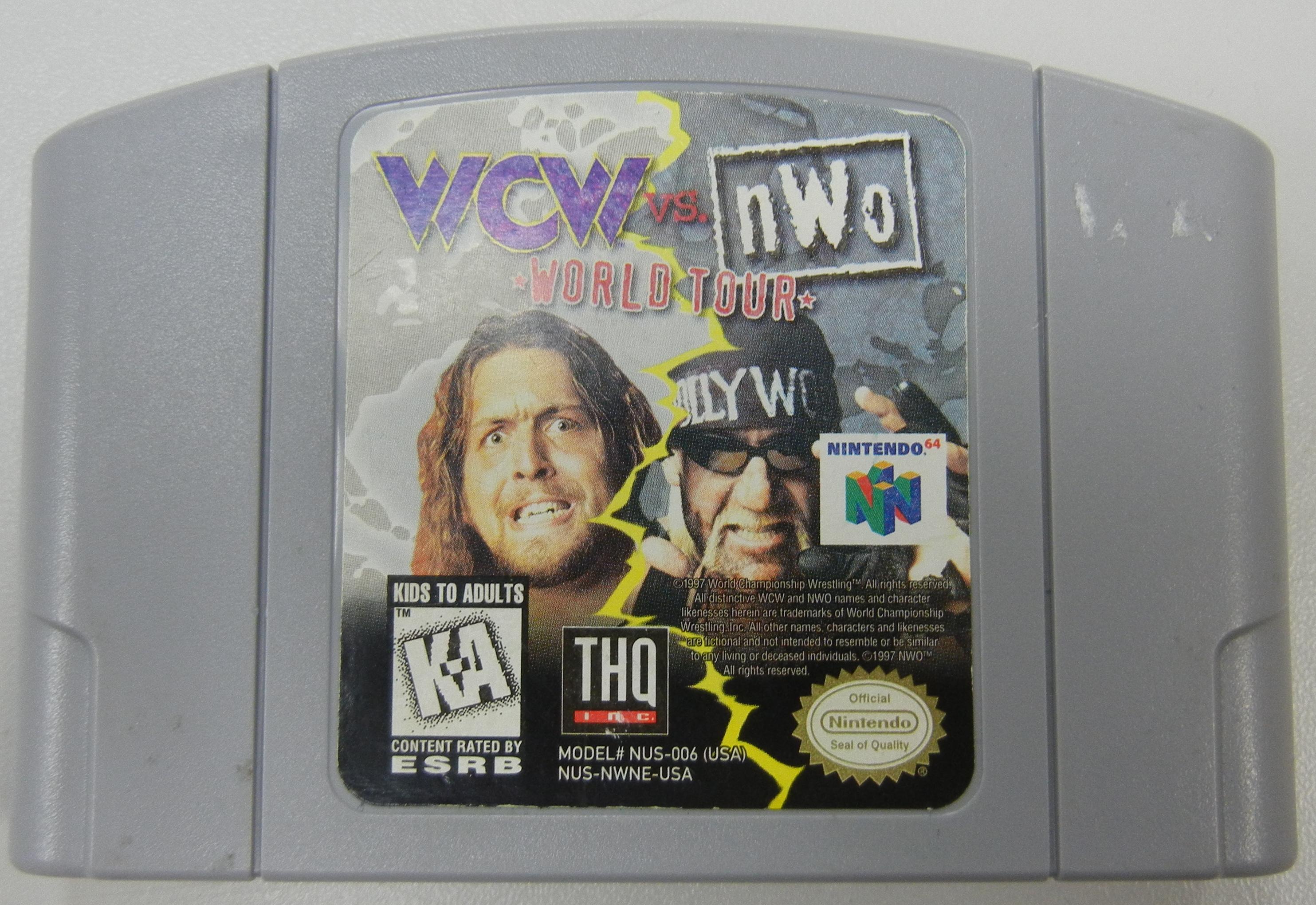 WCW/NWO REVENGE N64 GAME