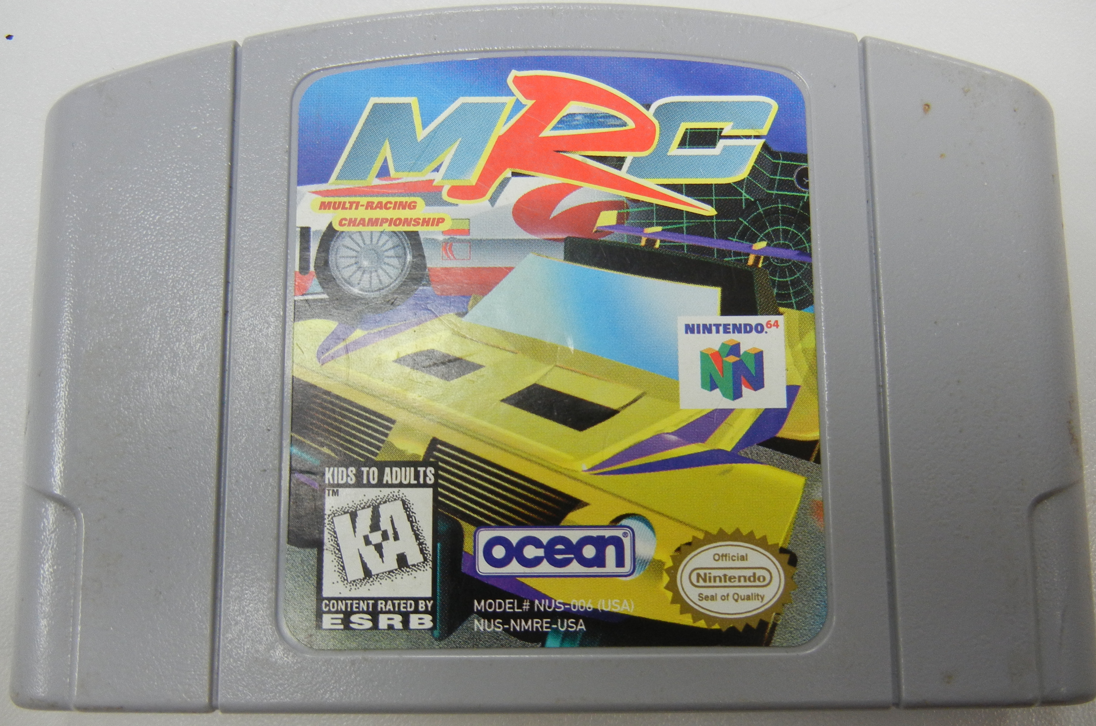 MRC (MULTI-RACING CHAMPIONSHIP) NINTENDO 64 GAME