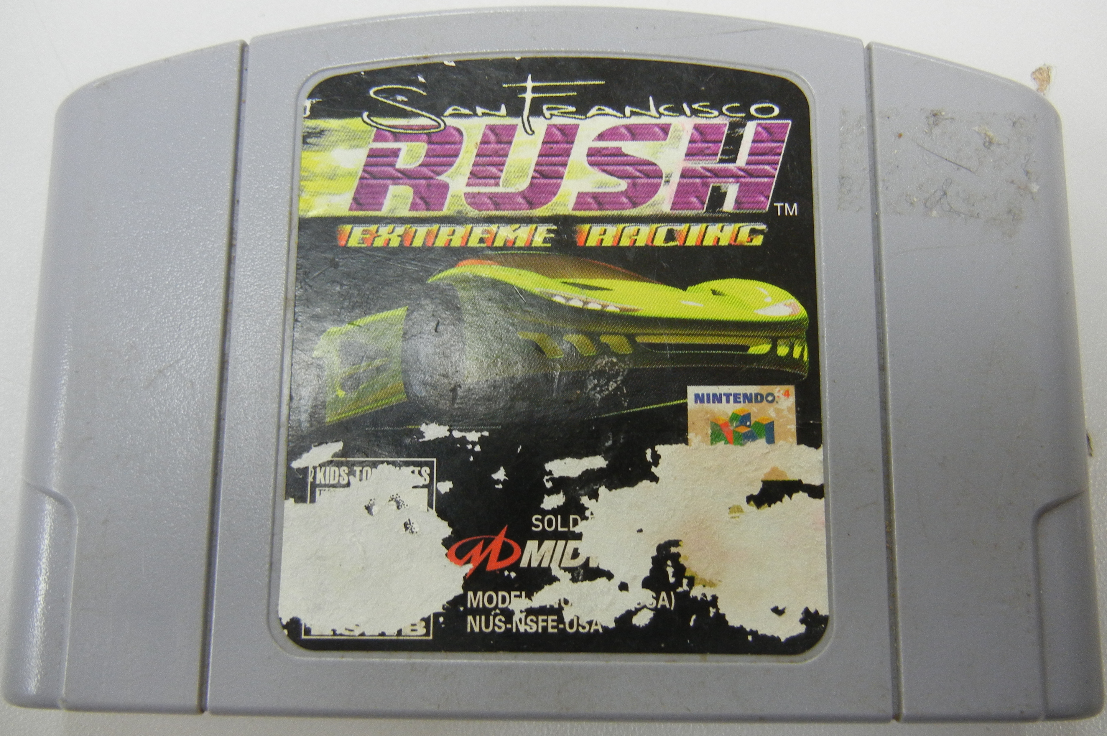 SAN FRANCISCO RUSH EXTREME RACING NINTENDO 64 GAME