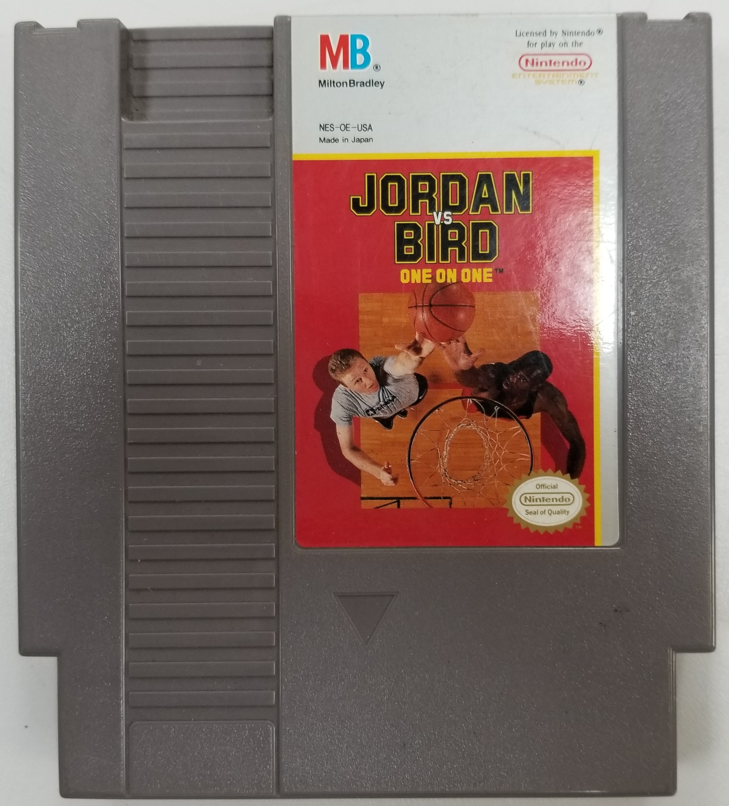 JORDAN VS BIRD - ONE ON ONE - NES GAME