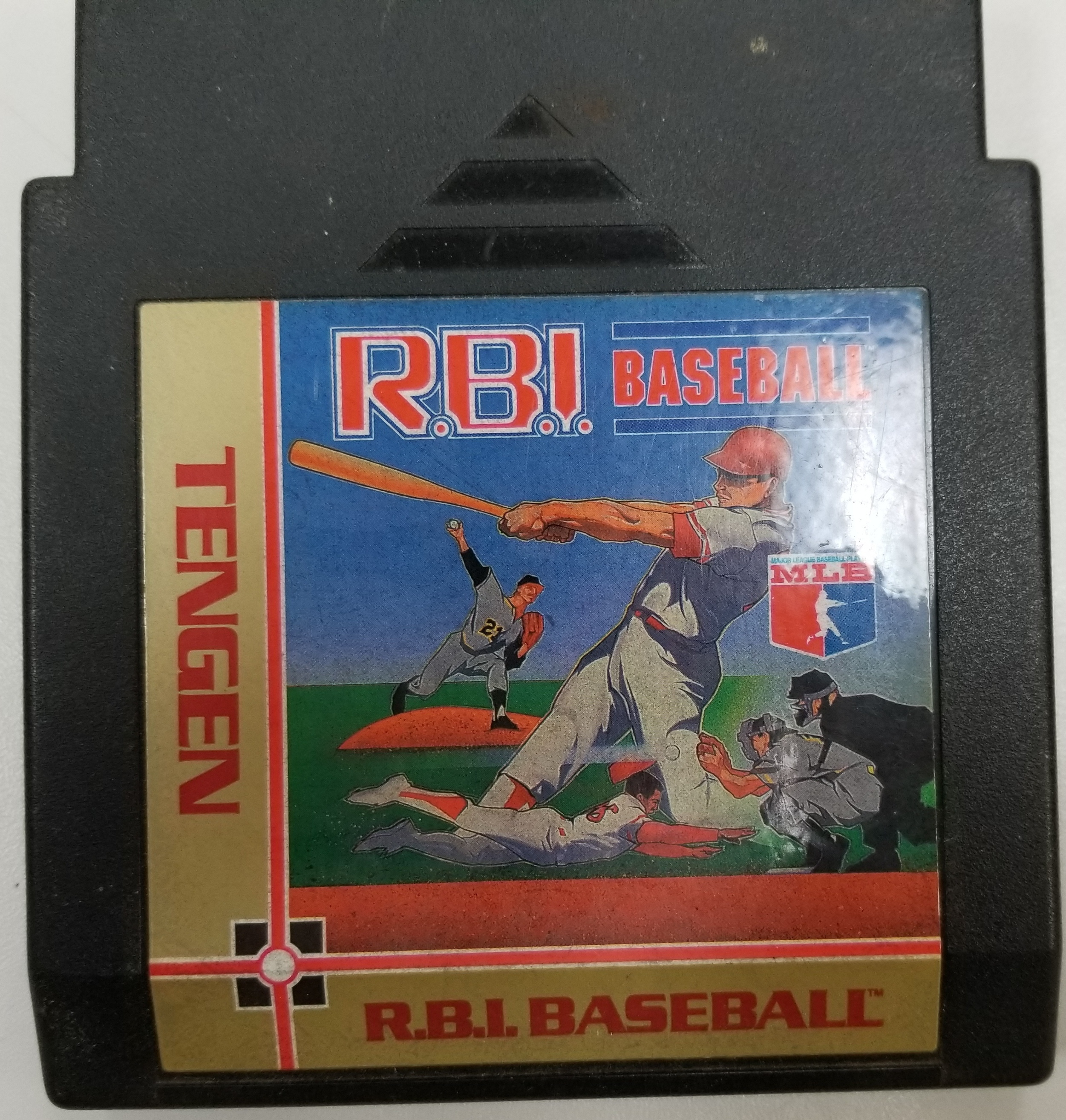 RBI BASEBALL NES GAME
