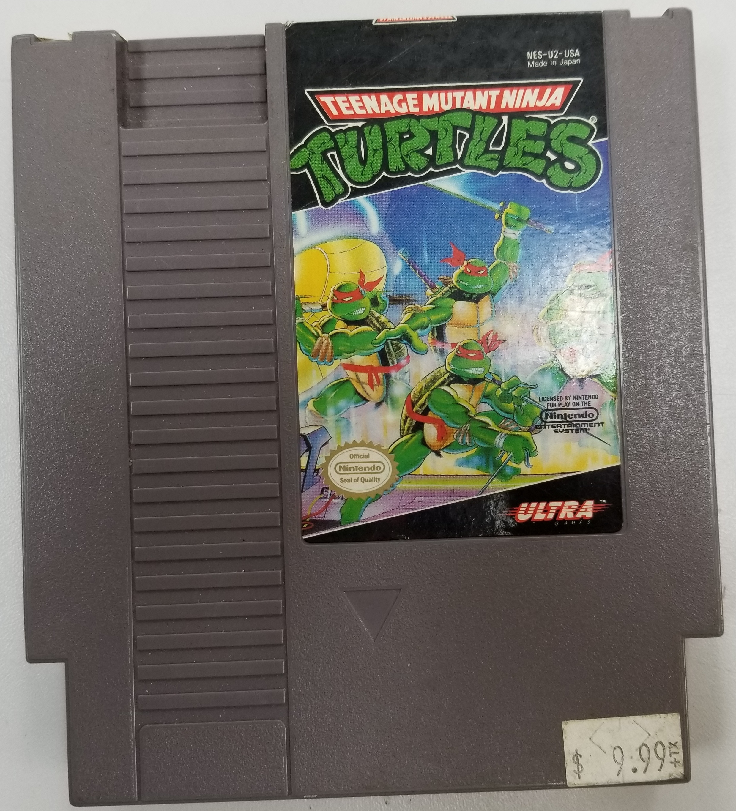 TEENAGE MUTANT NINJA TURTLE NES GAME