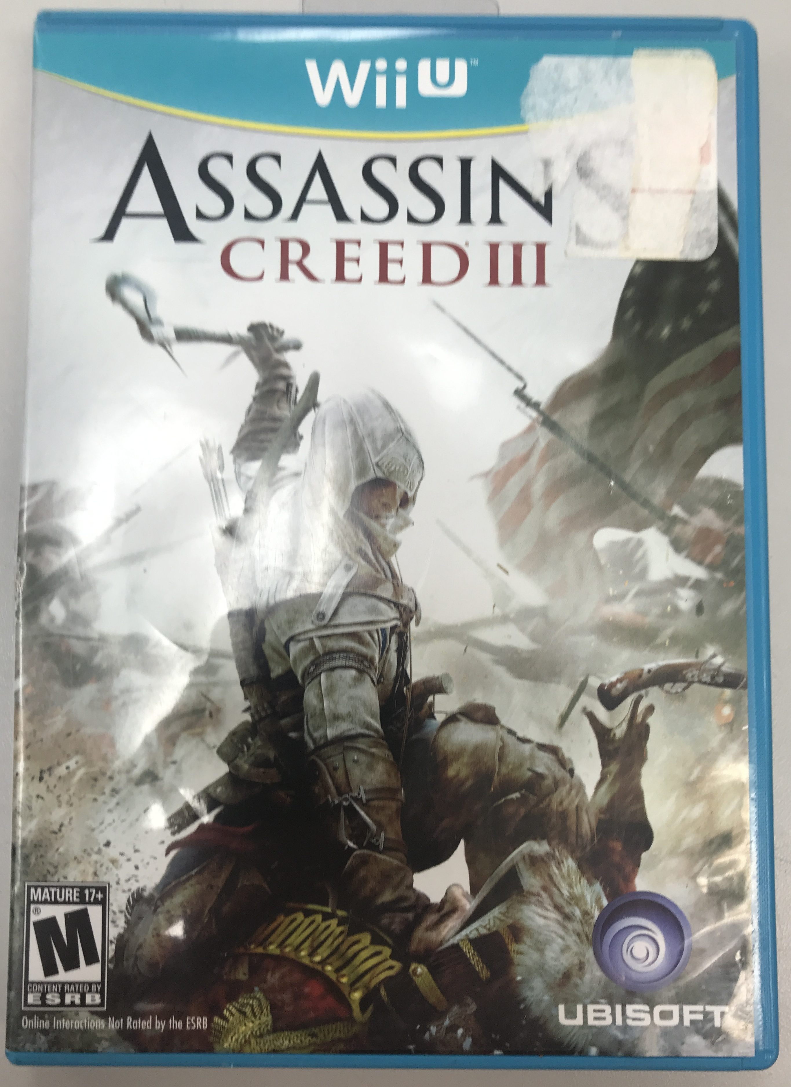 ASSASSIN'S CREED III WII U GAME