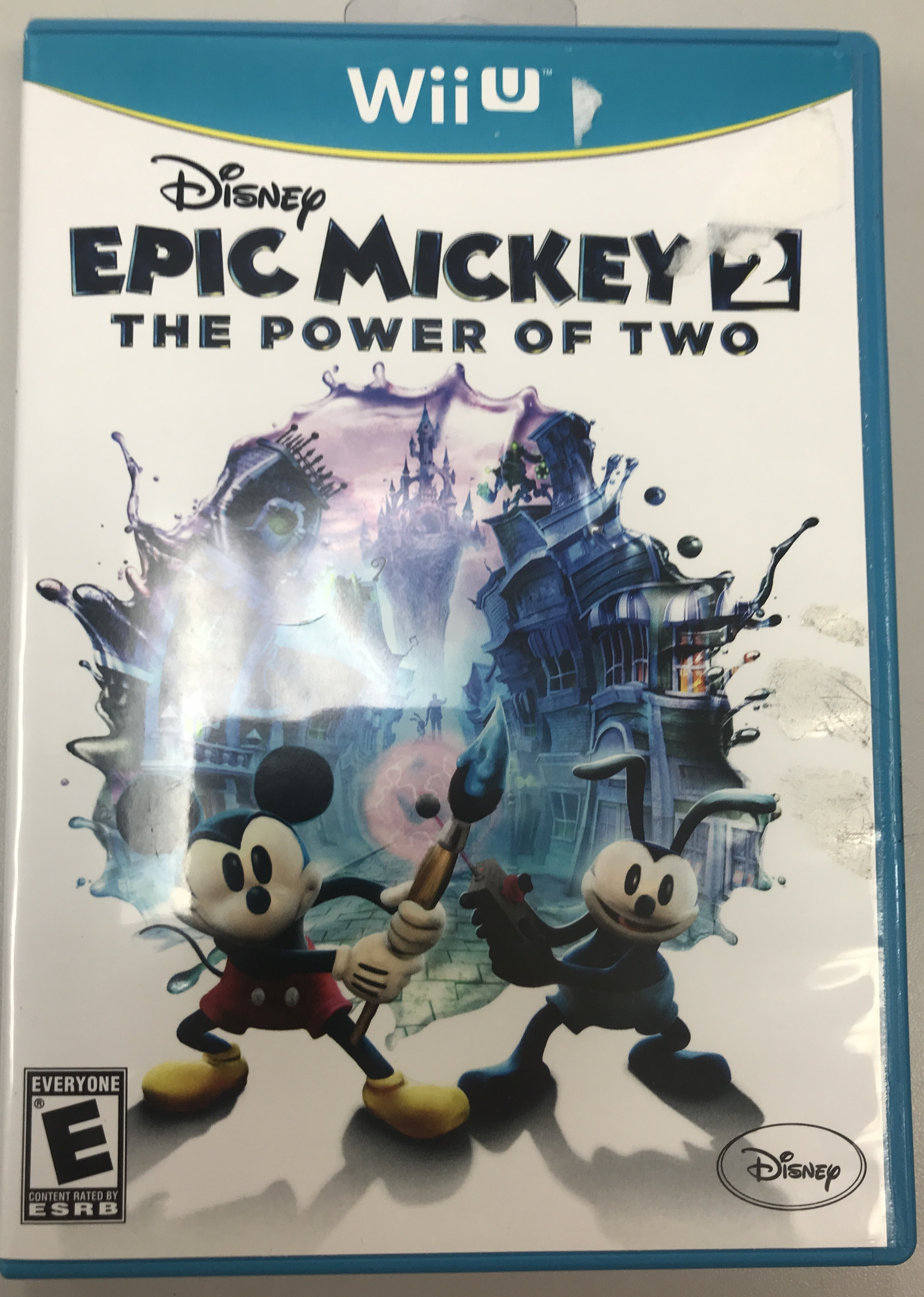 DISNEY EPIC MICKEY 2: THE POWER OF TWO - NINTENDO WII U GAME