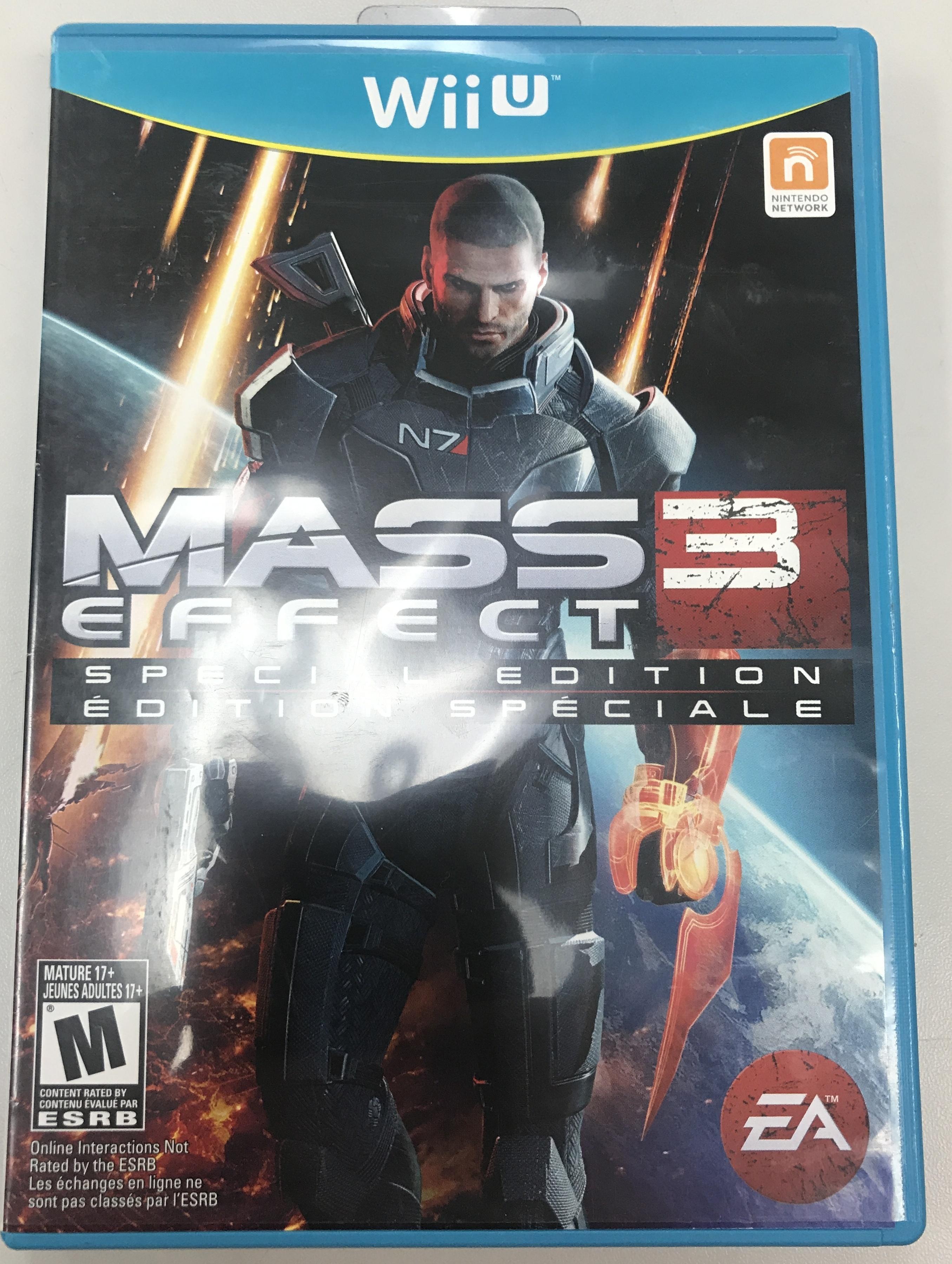 MASS EFFECT 3 SPECIAL EDITION -NINTENDO WII U GAME
