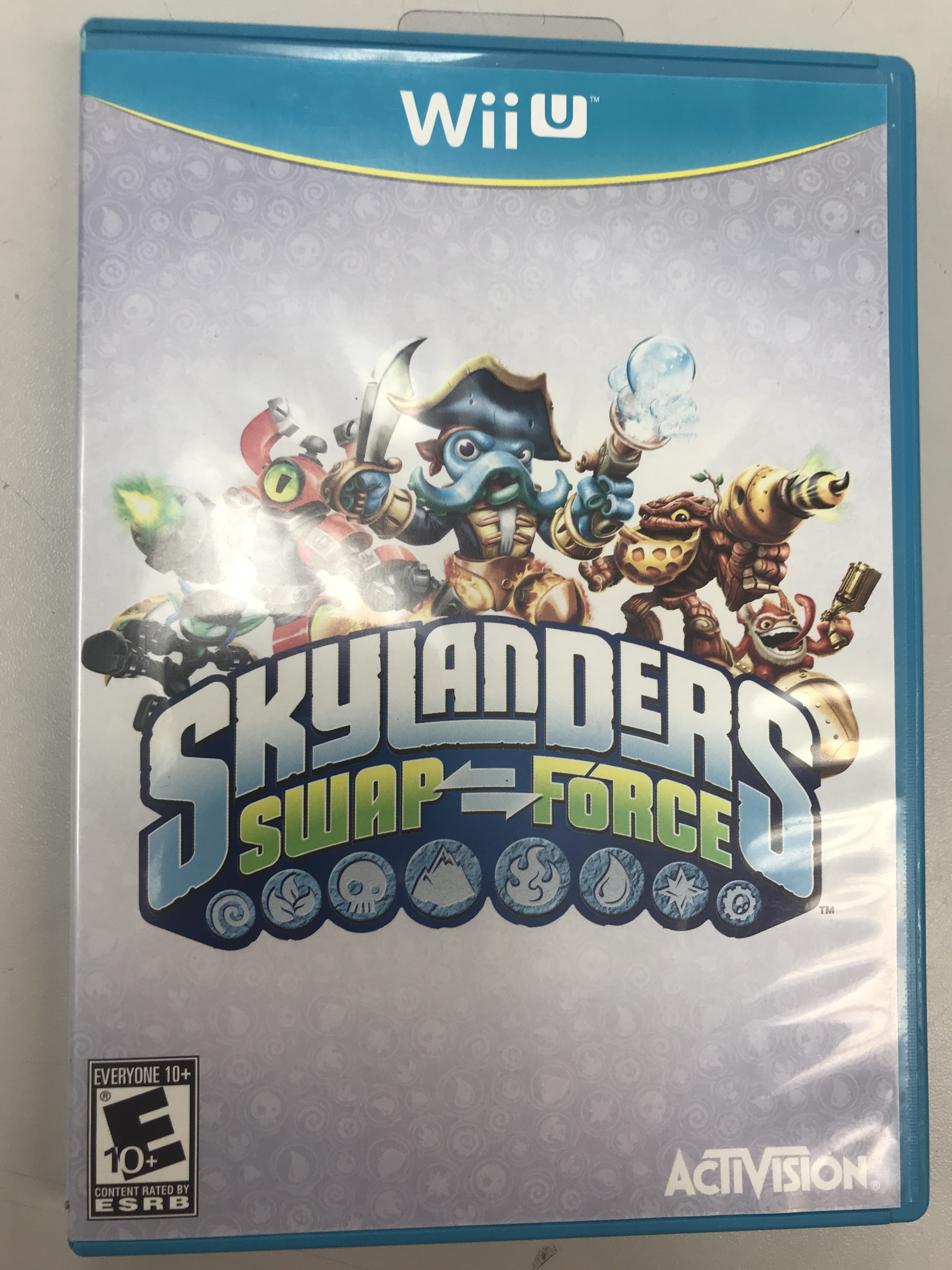 SKYLANDERS SWAP FORCE  - NINTENDO WII U GAME