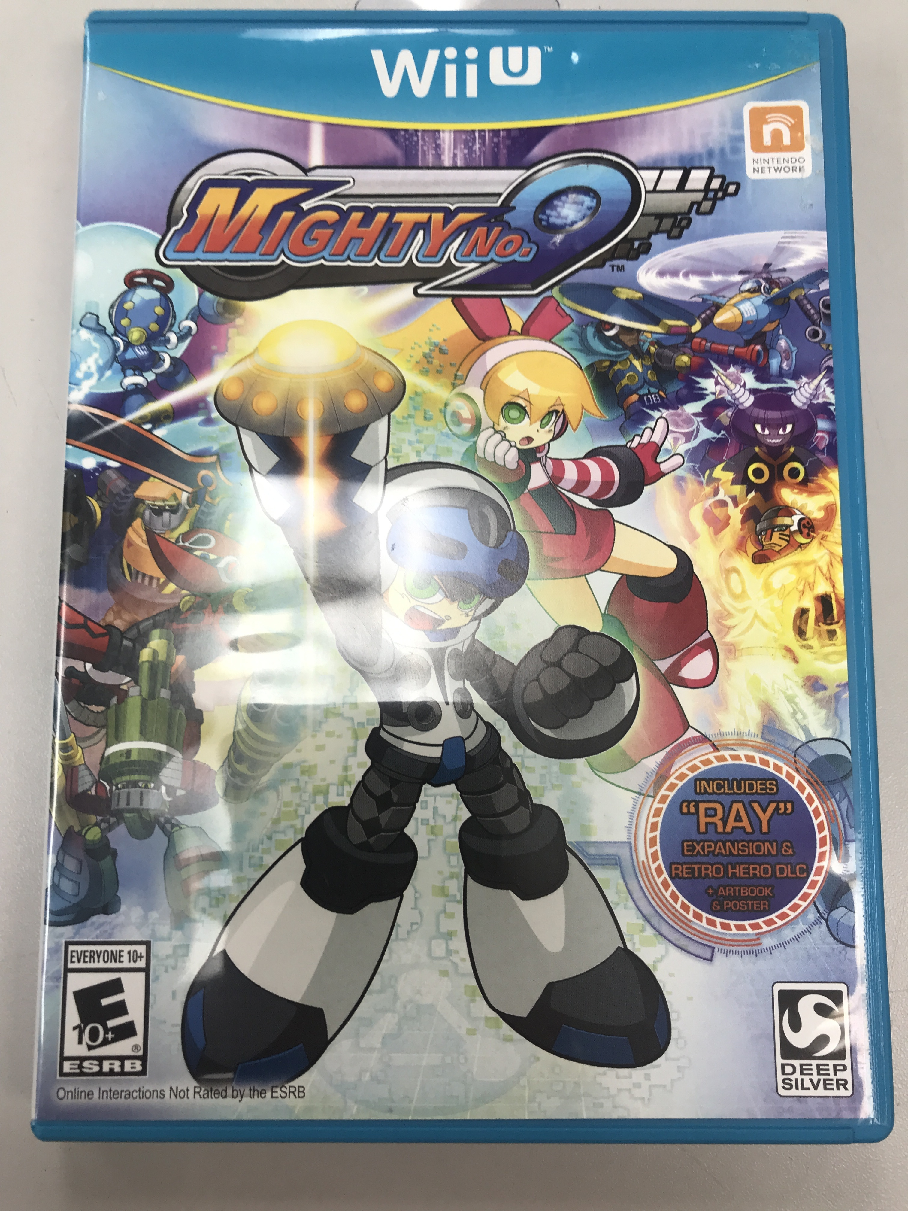 MIGHTY NO.9 - NINTENDO WII U GAME