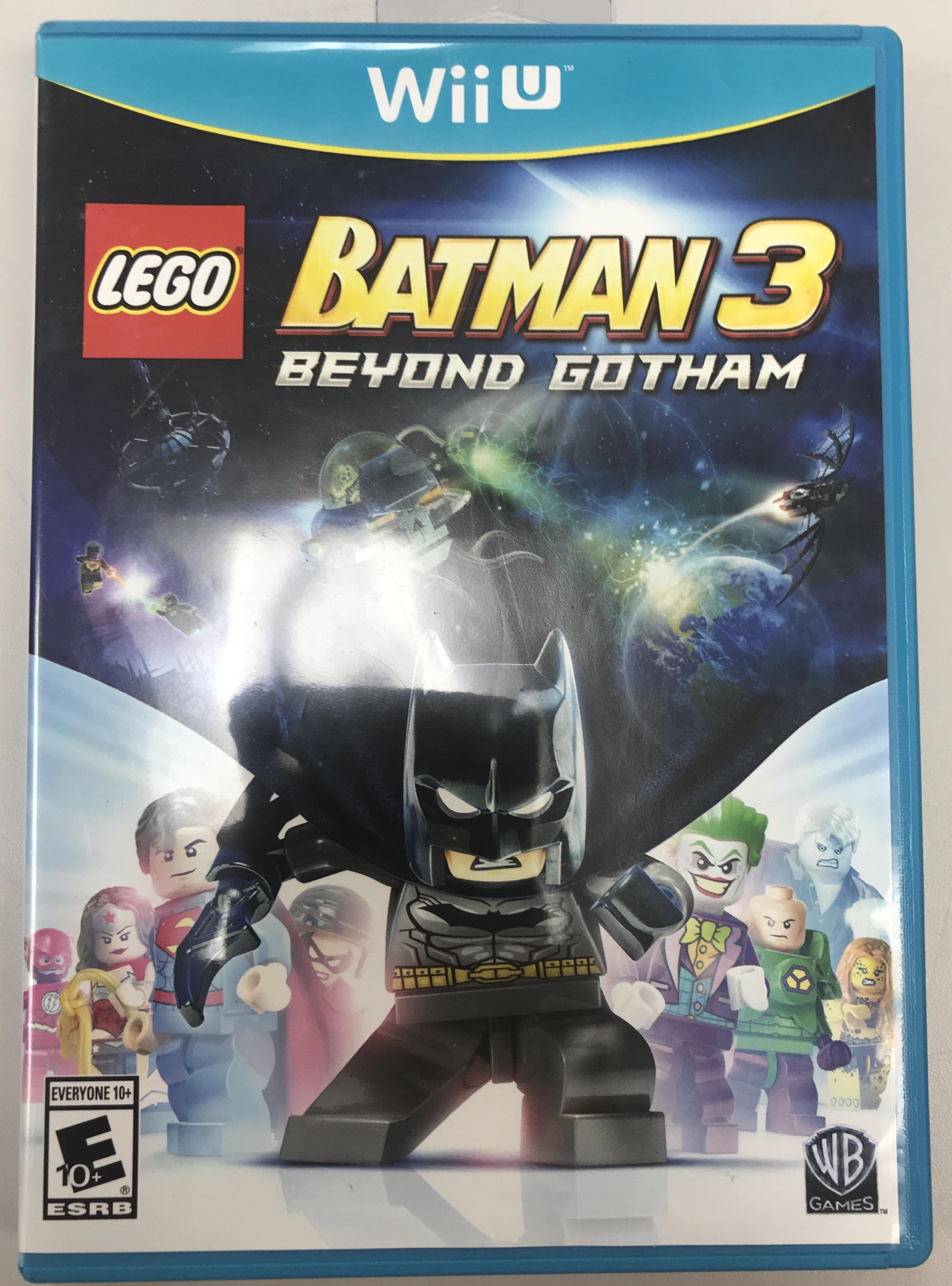 LEGO: BATMAN 3 BEYOND GOTHAM - NINTENDO WII U GAME