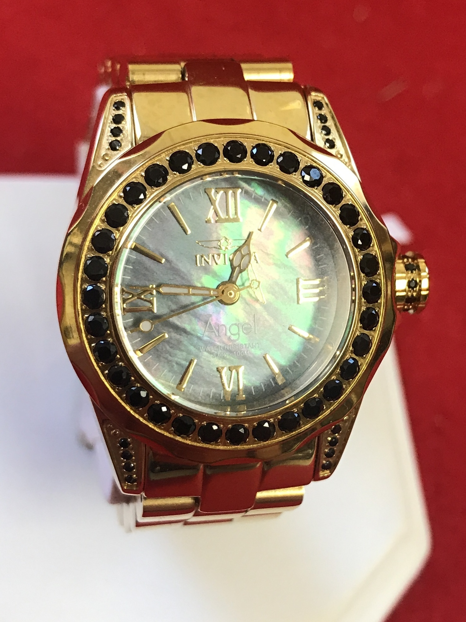 INVICTA - ANGEL 15054 - WOMEN'S WATCH - MOTHER OF PEARL FACE
