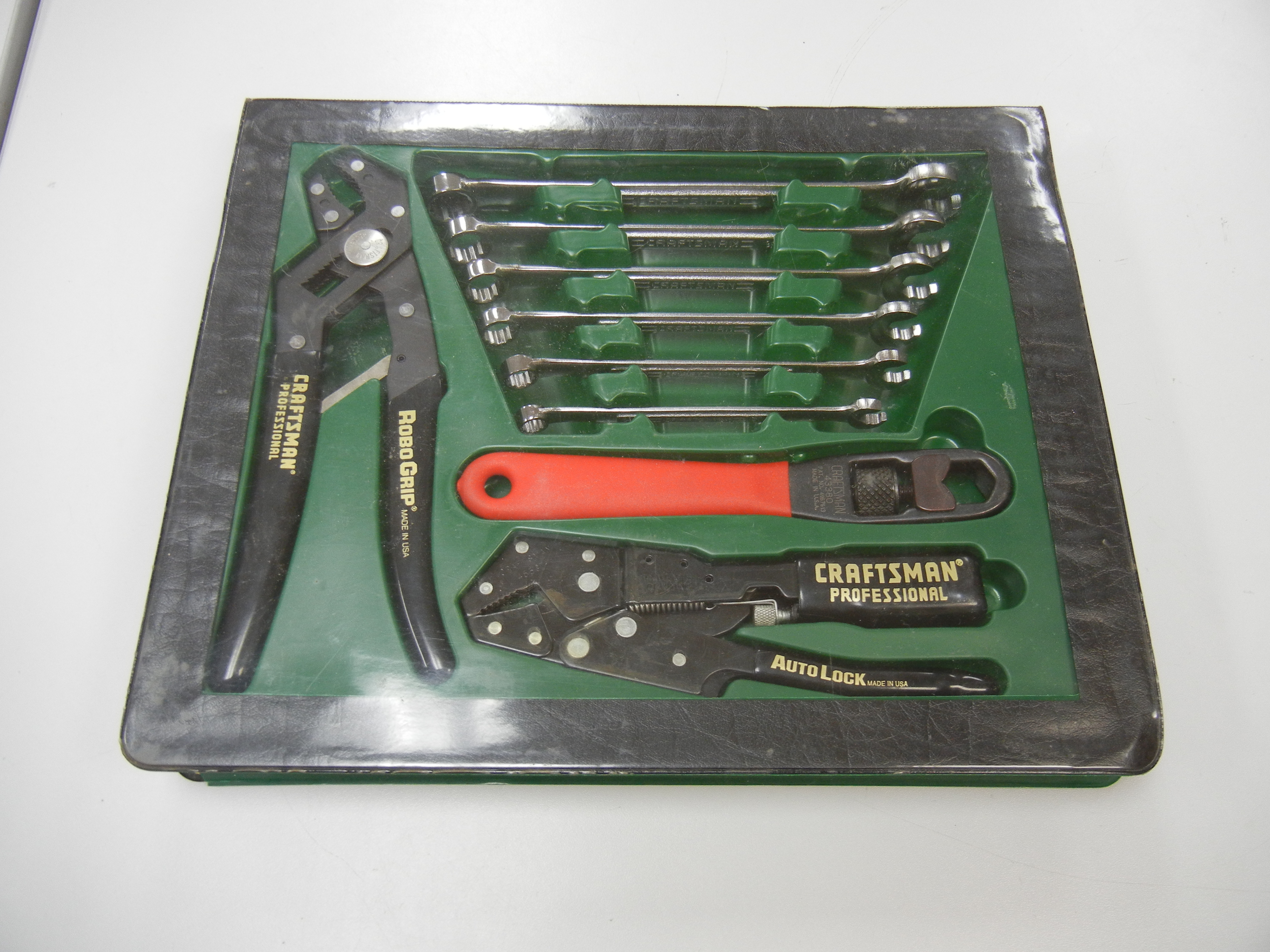 CRAFTSMAN PROFESSIONAL LOCKING TOOLS WITH SAE WRENCH SET