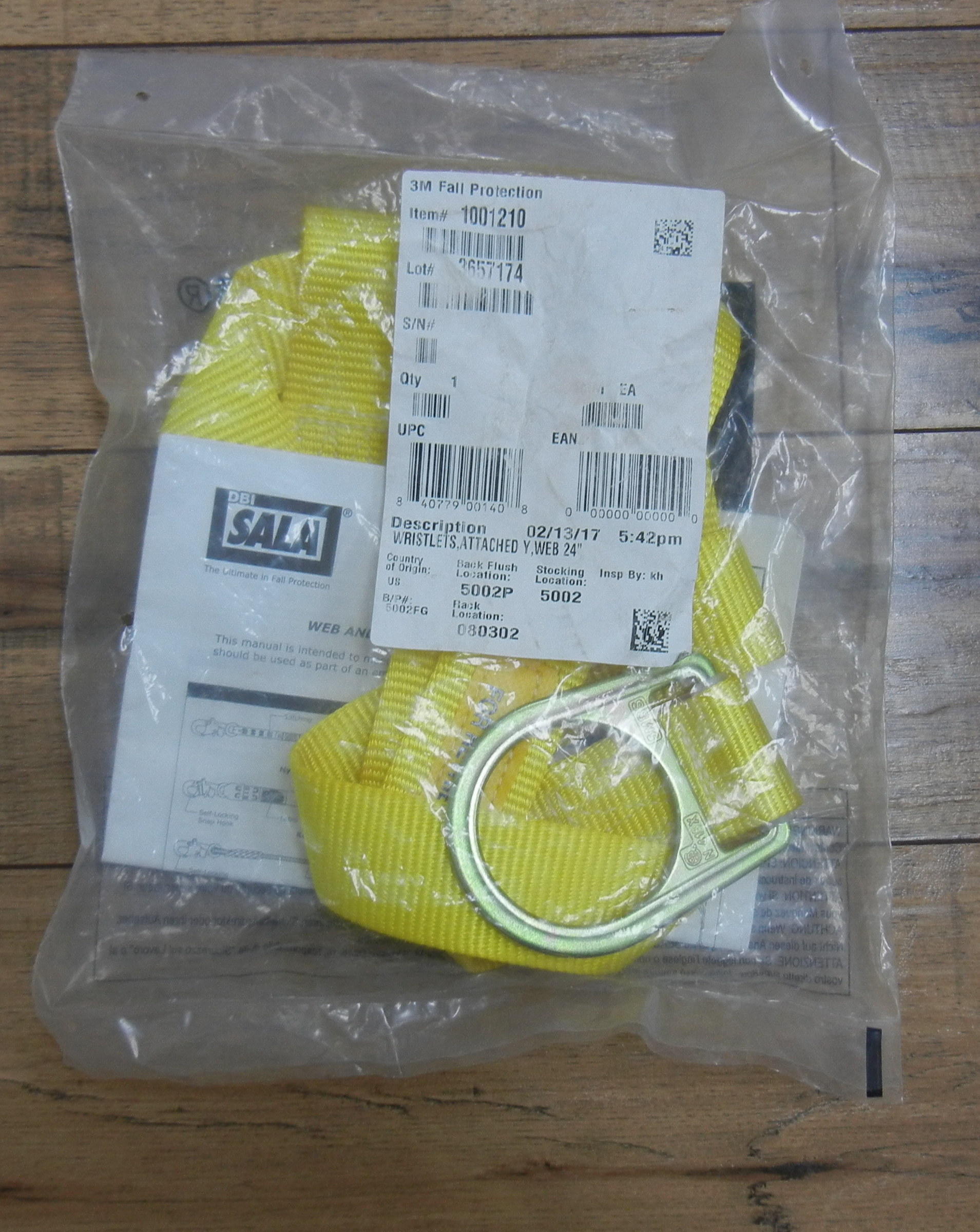 DBI - SALA - BEAM STRAP - BRAND NEW IN SEALED BAG