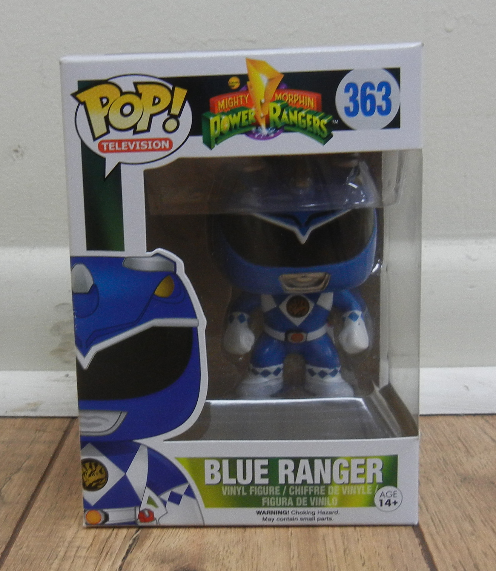 FUNKO POP! - POWER RANGERS - BLUE RANGER - TOYS