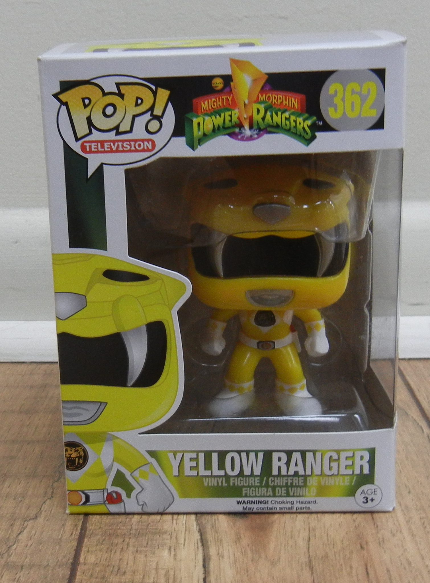 FUNKO POP! -  POWER RANGER - YELLOW RANGER - TOYS