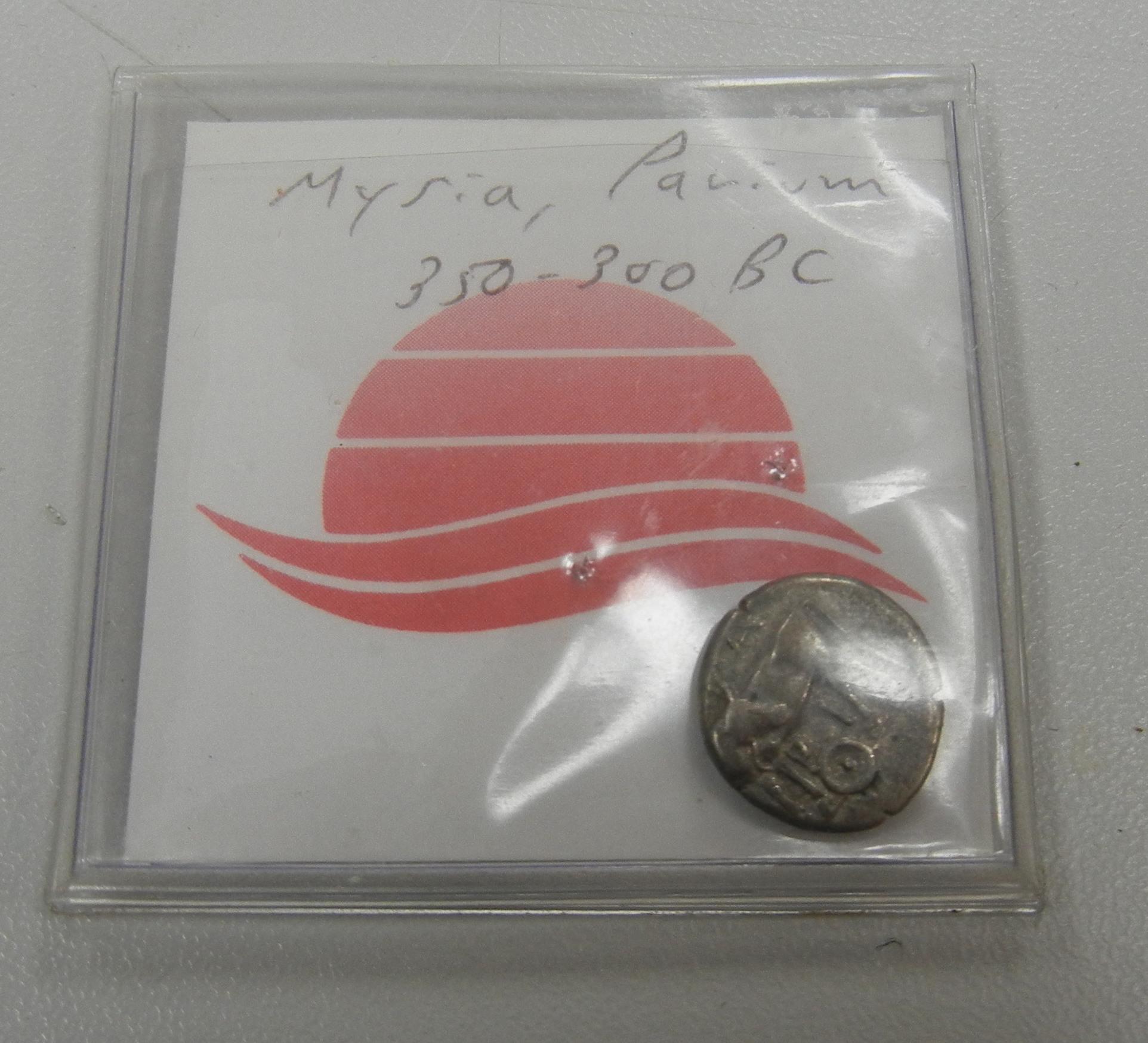 MYSIA PAVIUM 350-300 BC - FOREIGN COIN