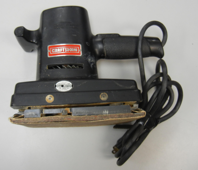 CRAFTSMAN - 315.11631 - DUAL MOTION SANDER
