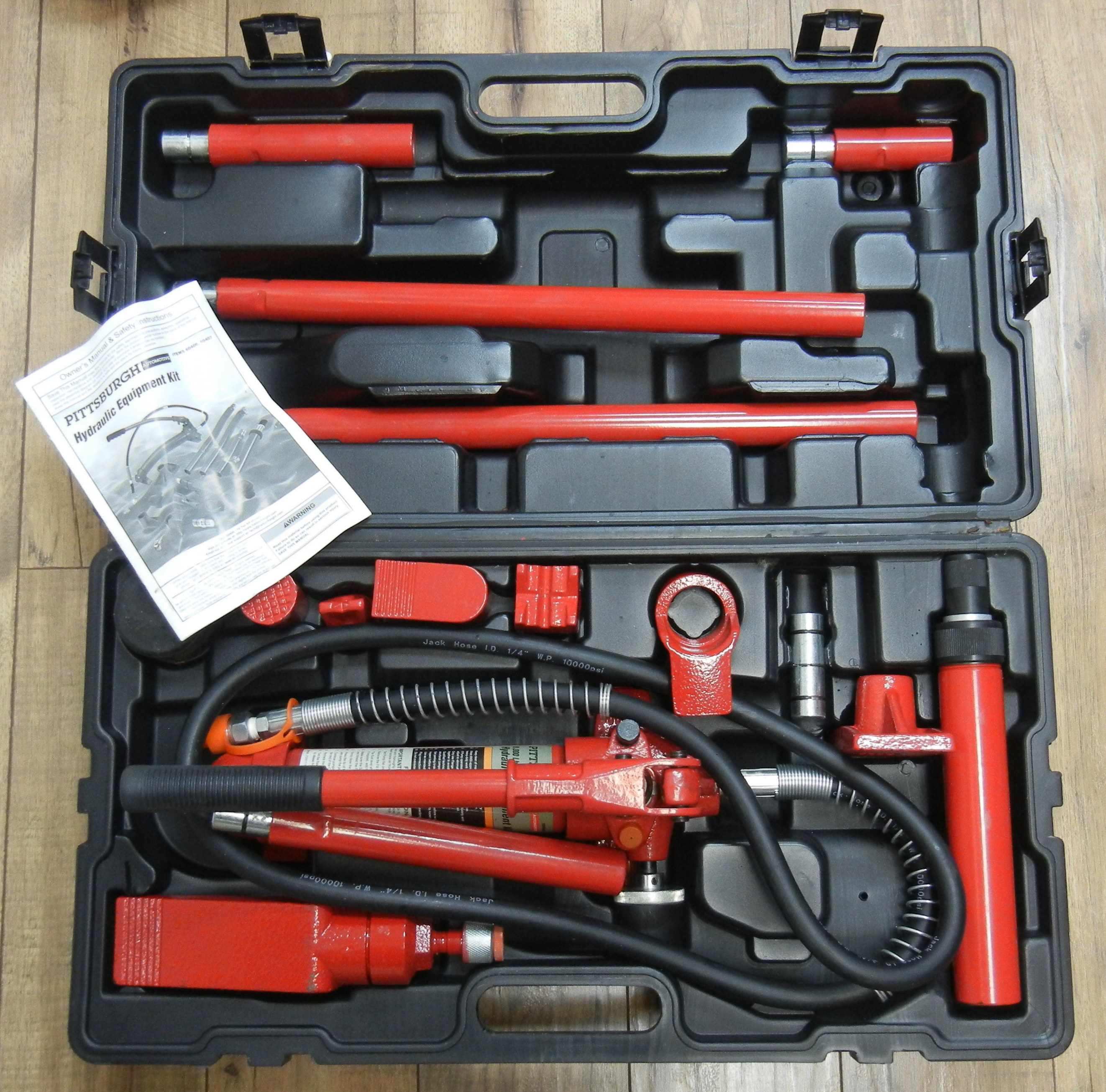 PITTSBURGH - 60406 - HYDRAULIC KIT TOOLS