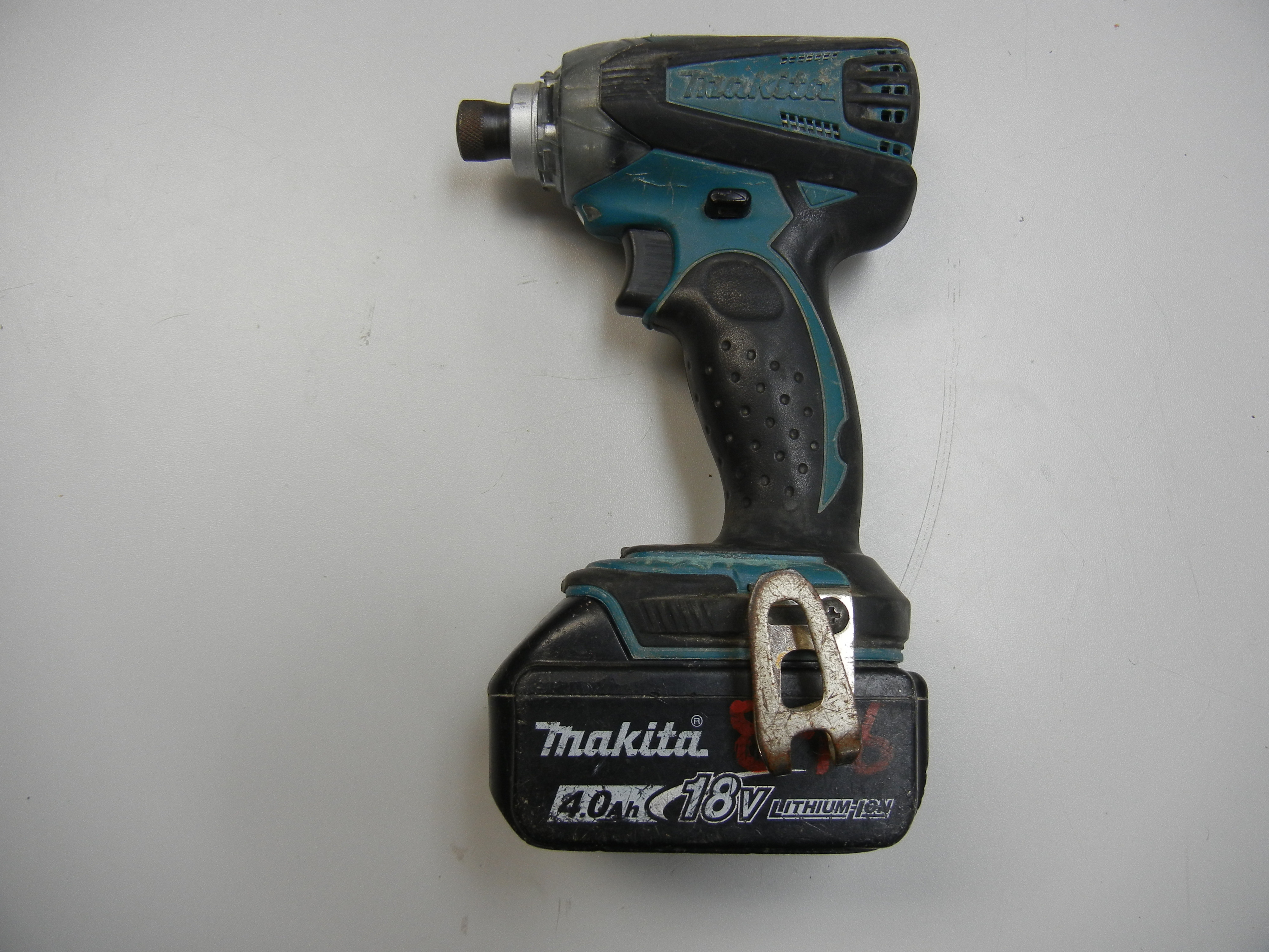 MAKITA - XDT01 - DRILL TOOL AND BATTERY ONLY