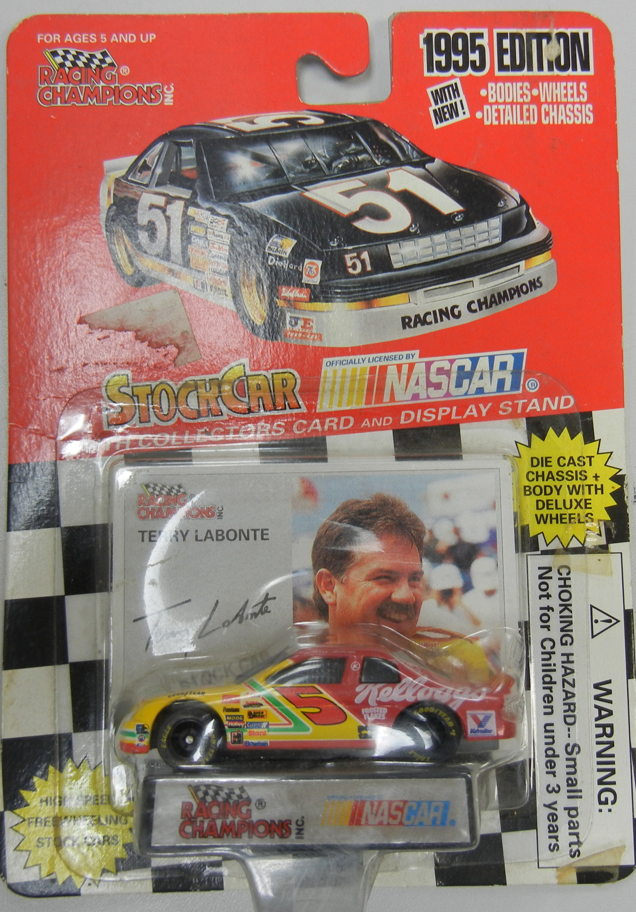 TERRY LABONTE # 5 NEW IN BOX STOCK CAR COLEECTIBLE