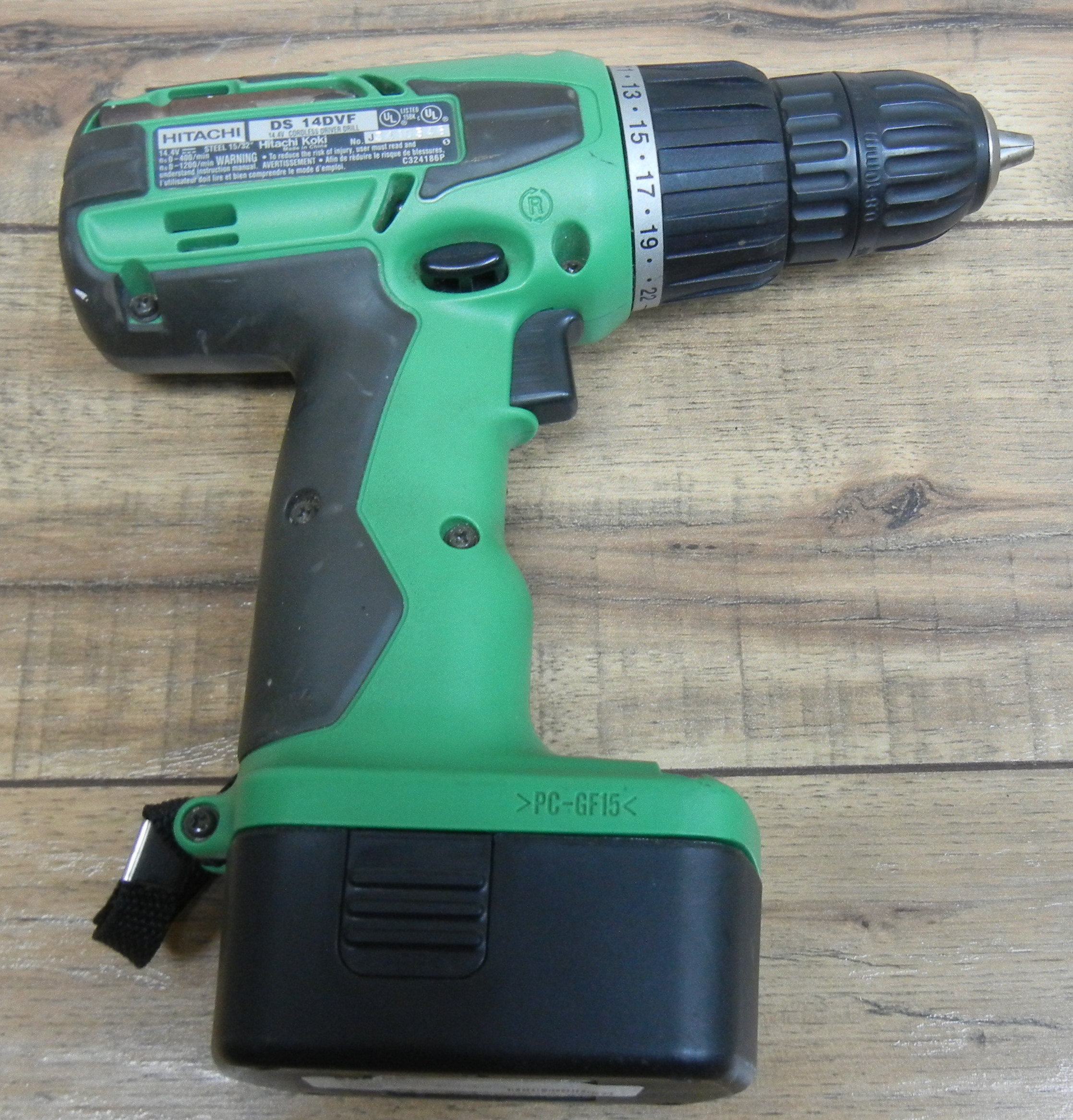 HITACHI/TOOLS - DS 14DVF - DRILL TOOLS-POWER