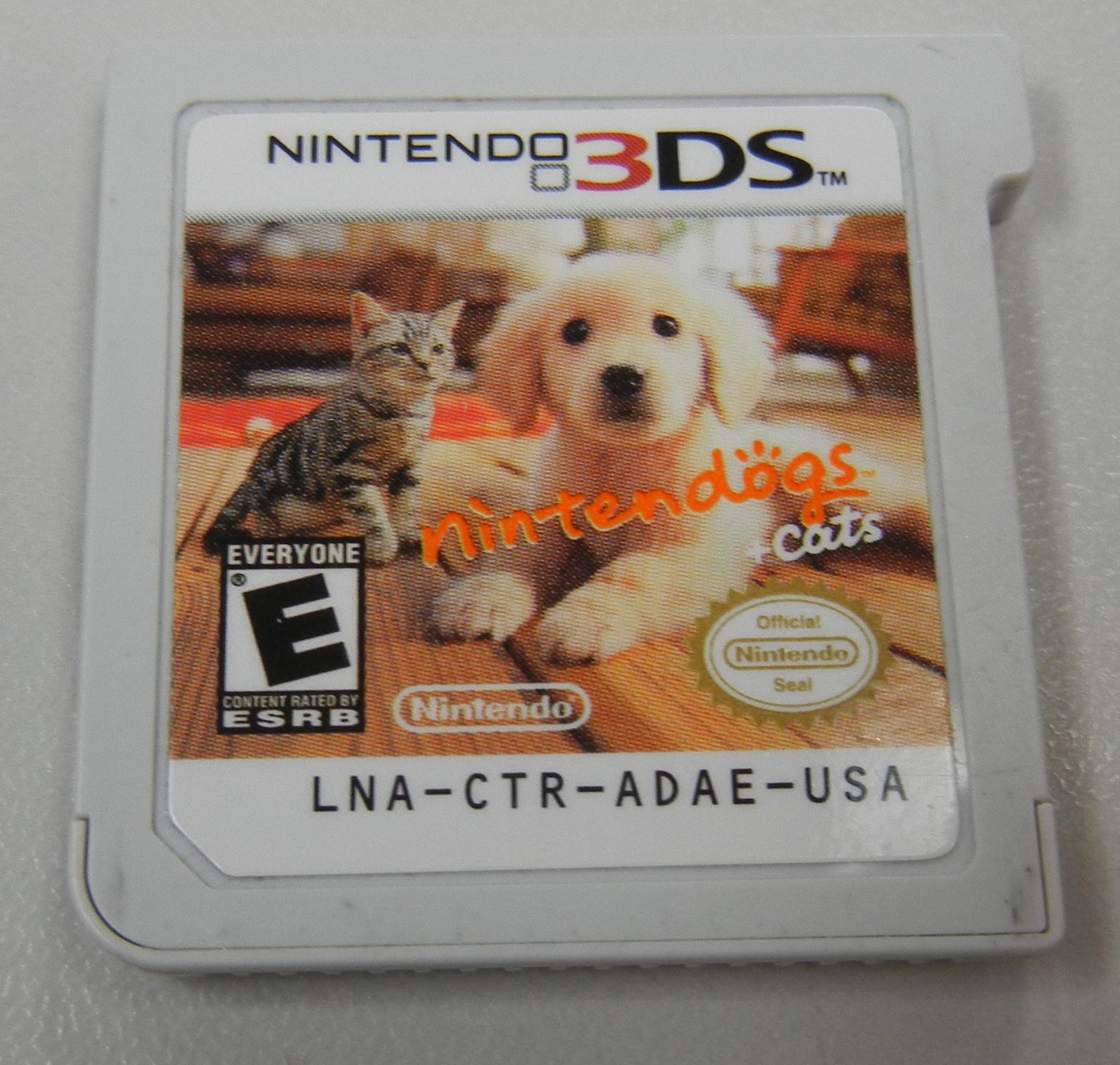 NINTENDOGS & CATS RETRIEVER - NINTENDO 3DS GAME