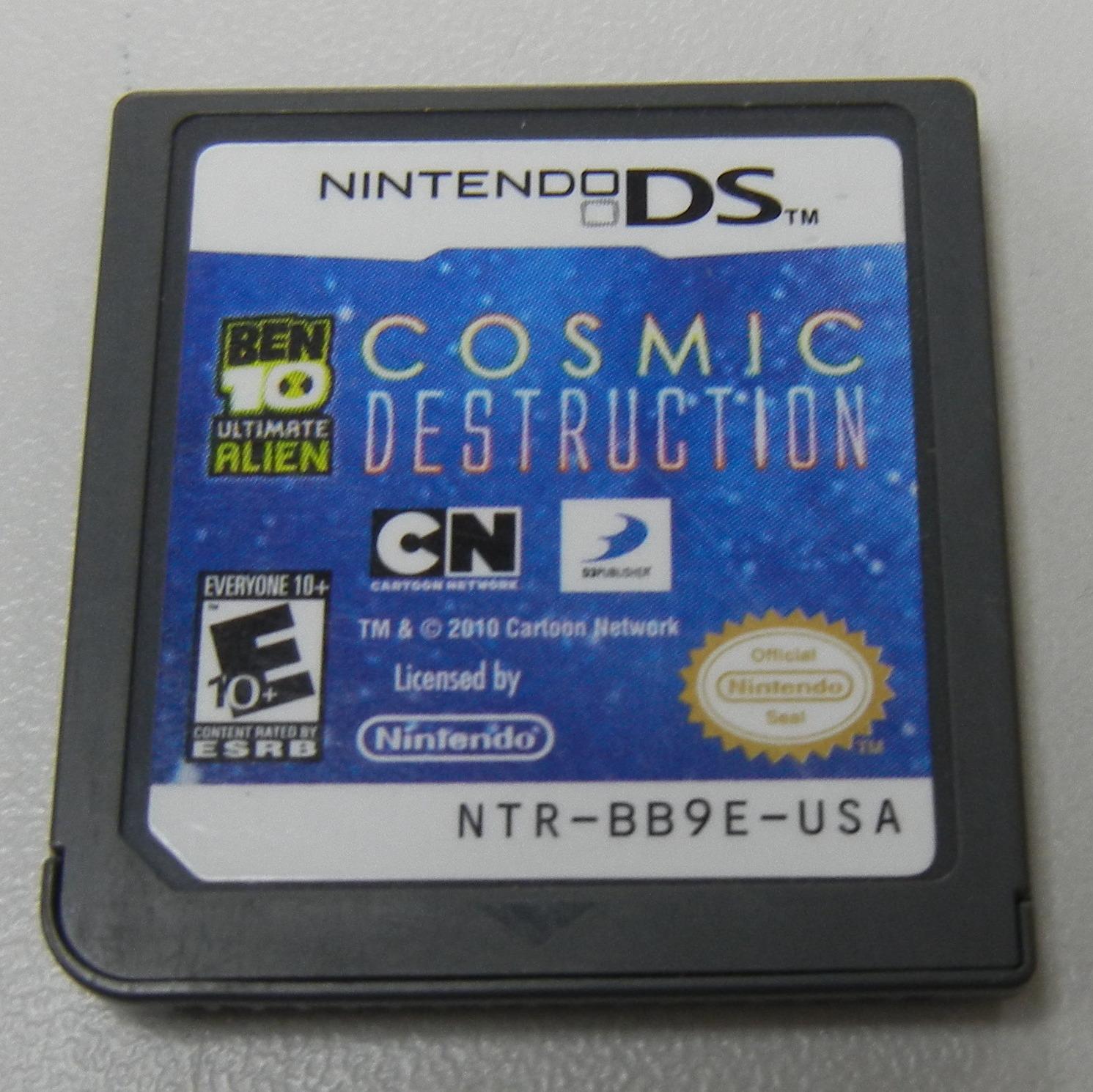 Ben 10: Ultimate Alien Cosmic Destruction  - NINTENDO DS GAME GAMES