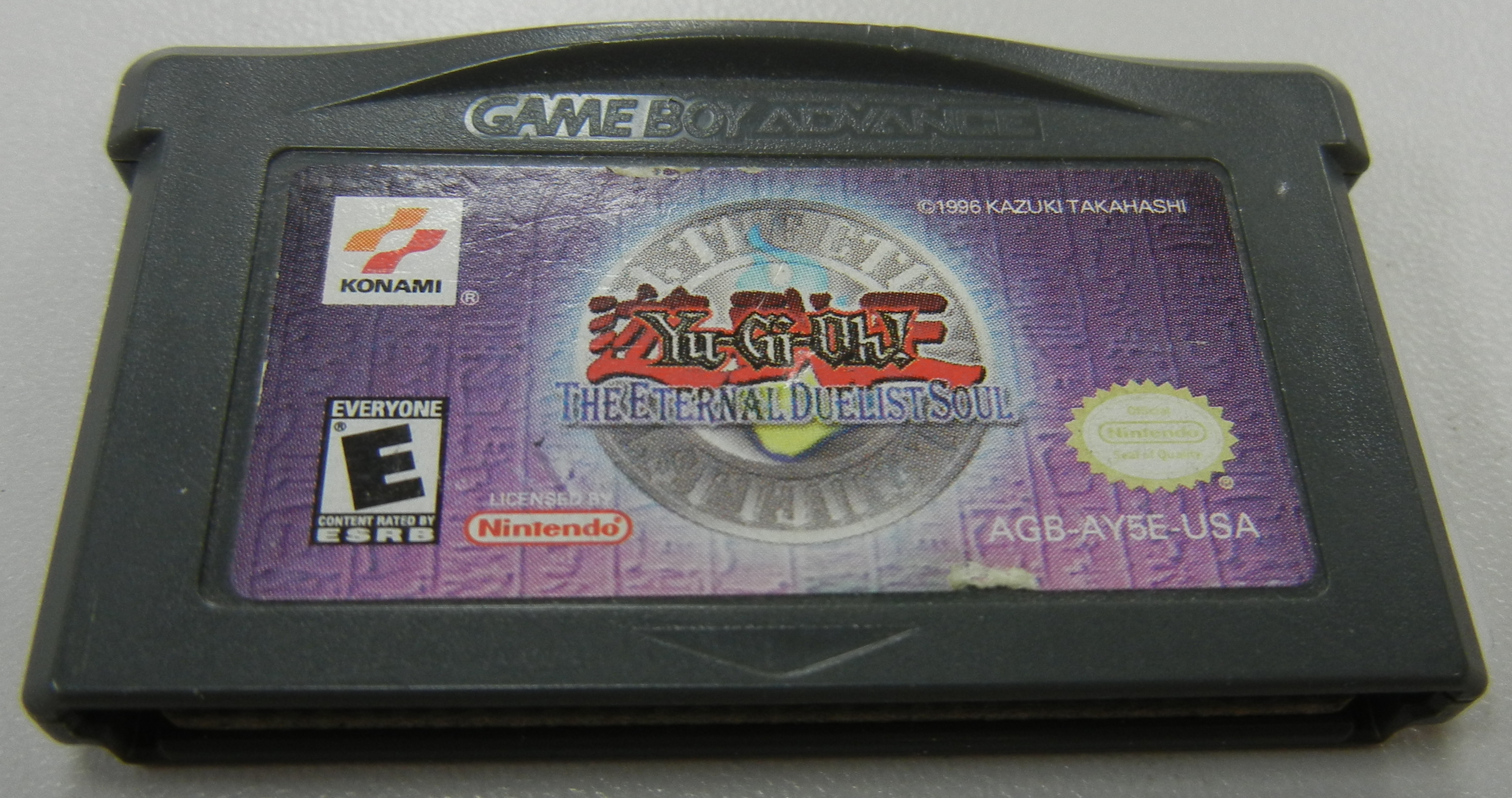 YU-GI-OH - THE ETERNAL DUELIST SOUL - GAMEBOY ADVANCE GAME