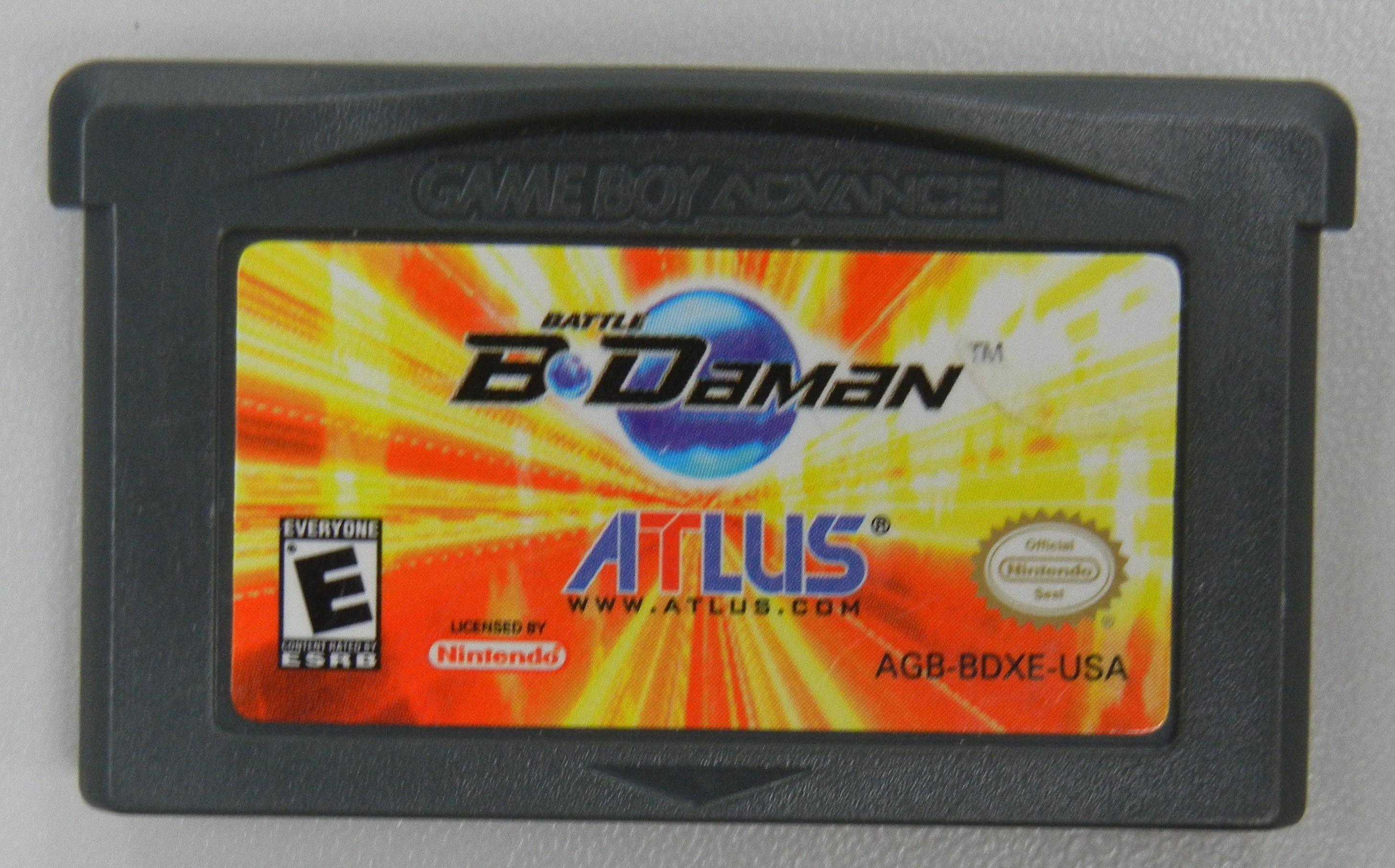 BATTLE B-DAMAN - GAMEBOY ADVANCE GAME
