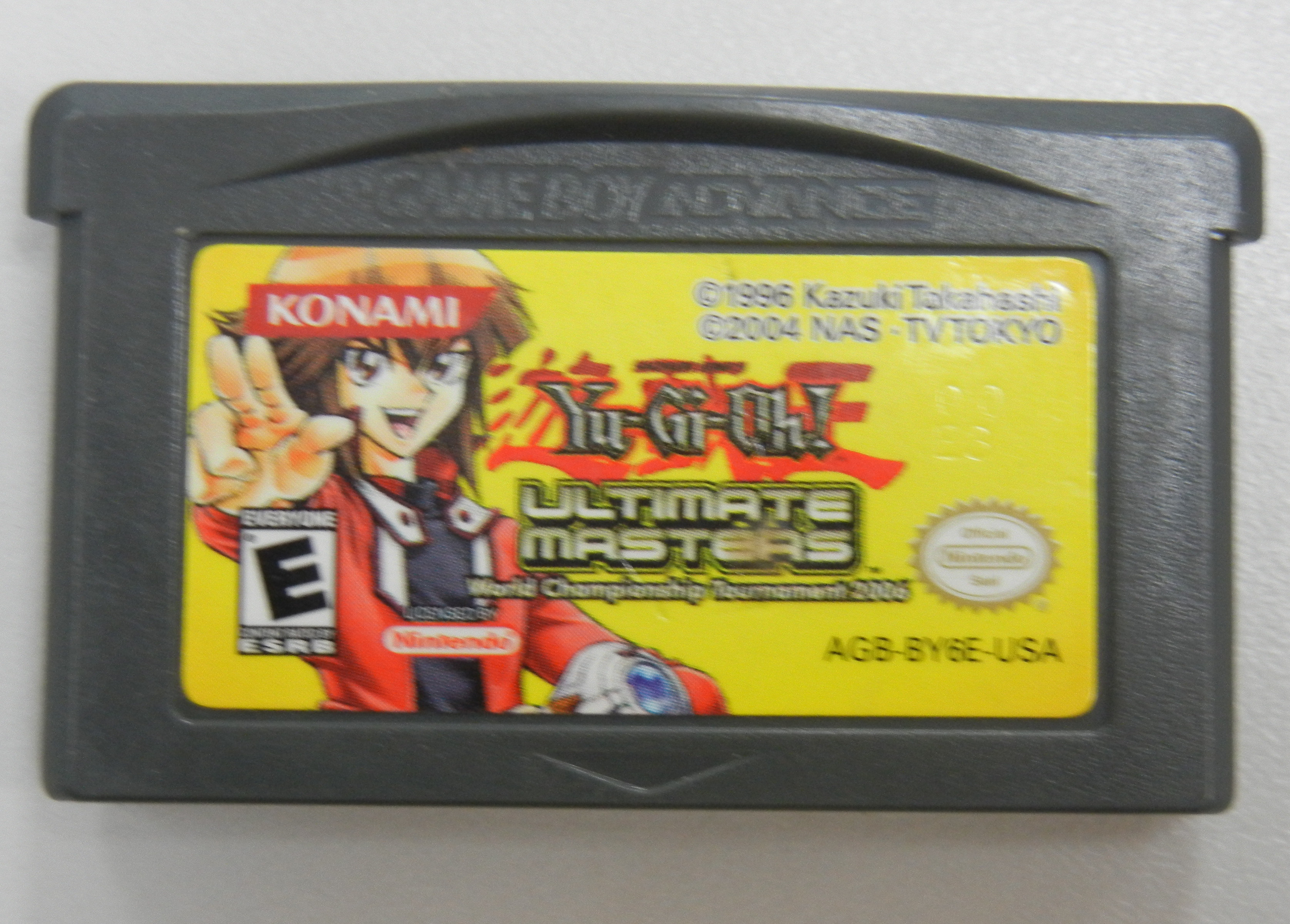 YU-GI-OH ULTIMATE MASTERS - GAMEBOY ADVANCE GAME