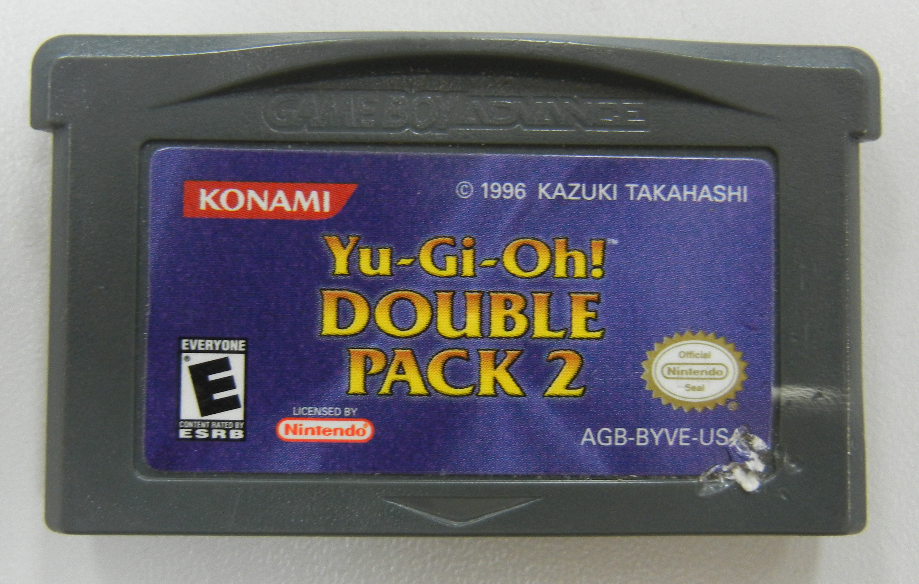 YU-GI-OH DOUBLE PACK 2  - GAMEBOY ADVANCE GAME