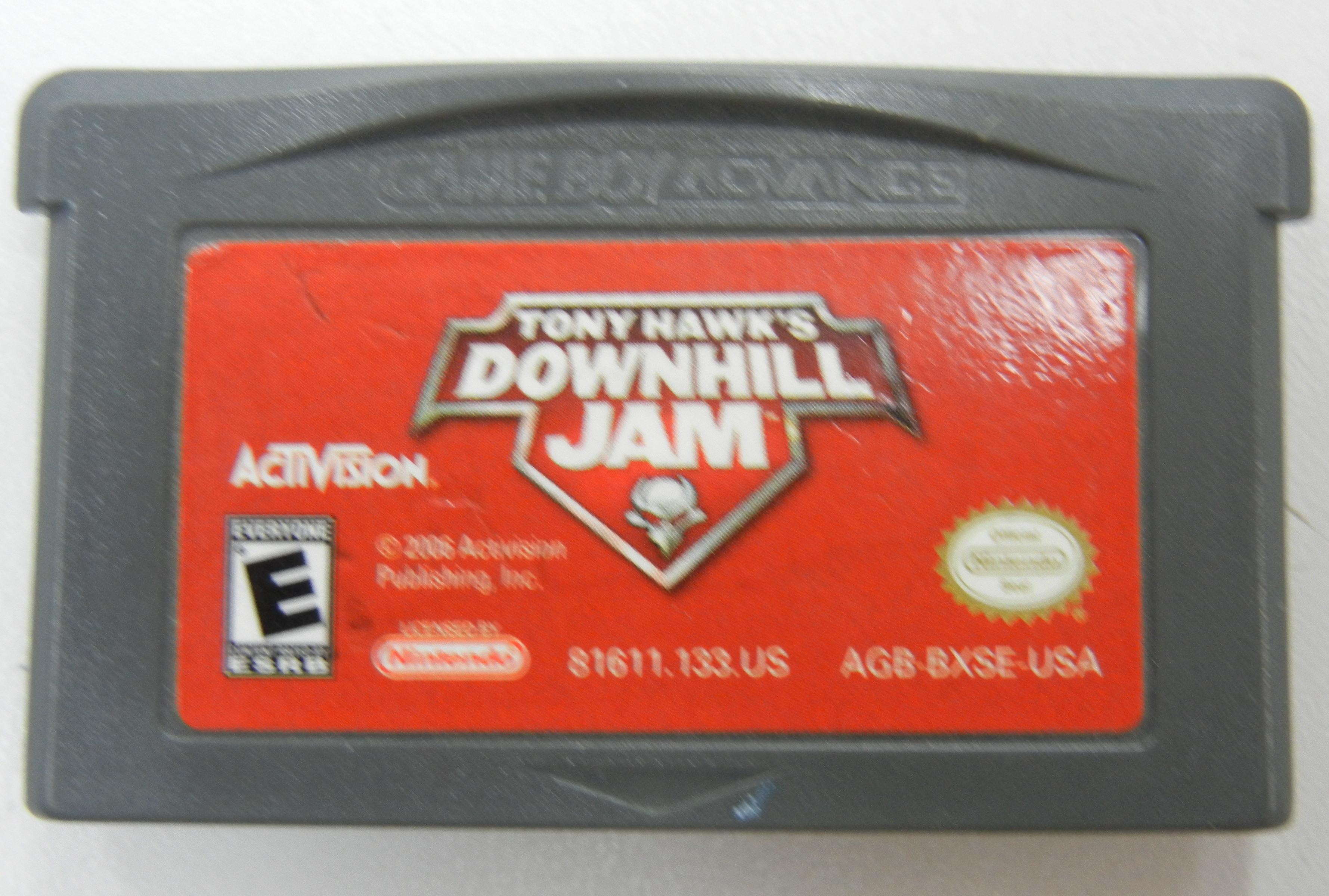 TONY HAWK'S DOWNHILL JAM - GAMEBOY ADVANCE GAME