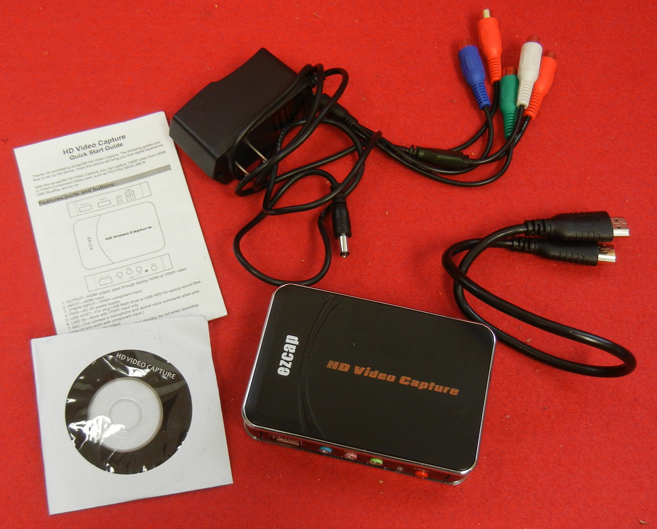 EZCAP -280 VIDEO CAPTURE CARD