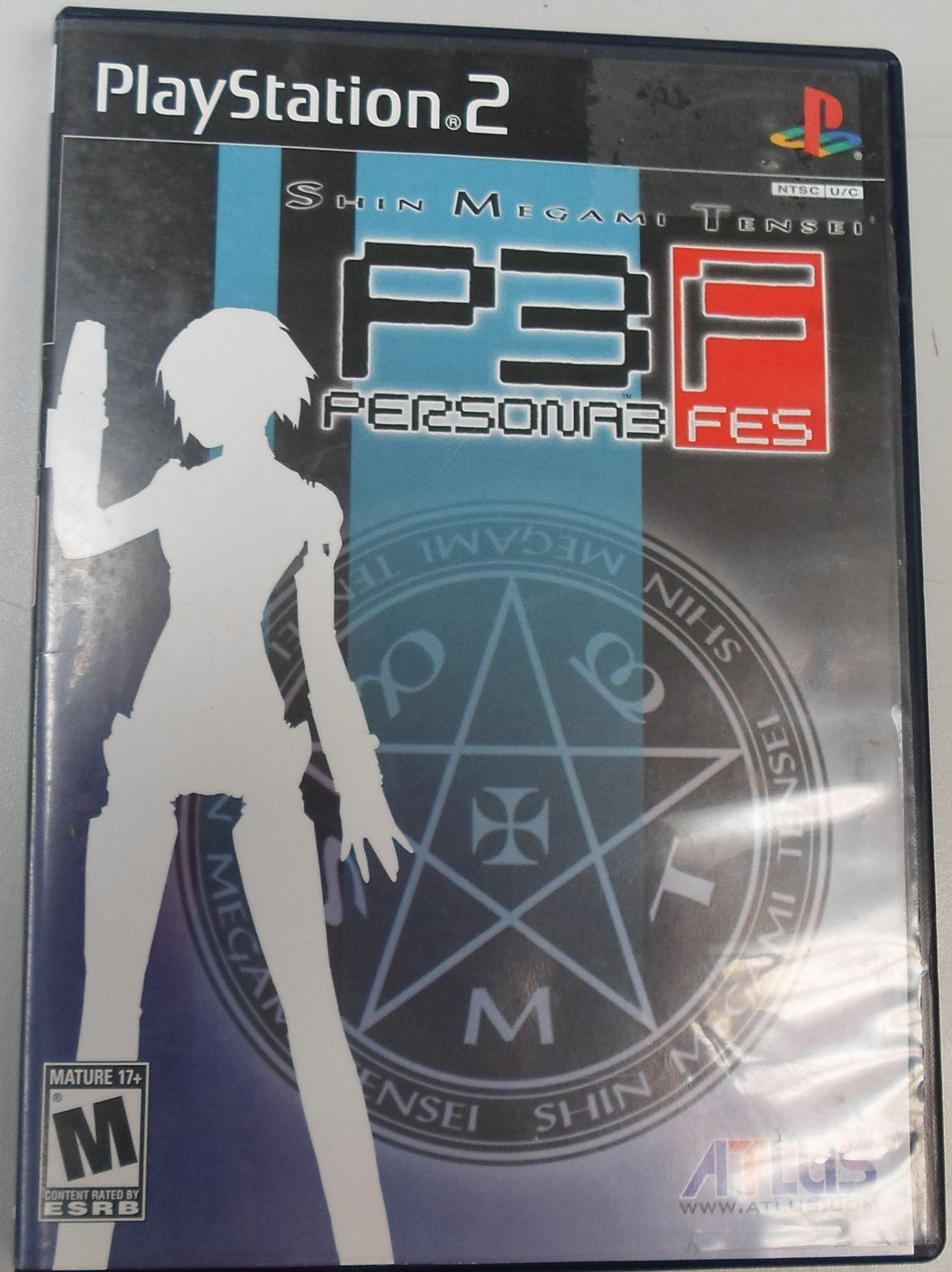 PLAYSTATION 2  PERSONA 3 FES
