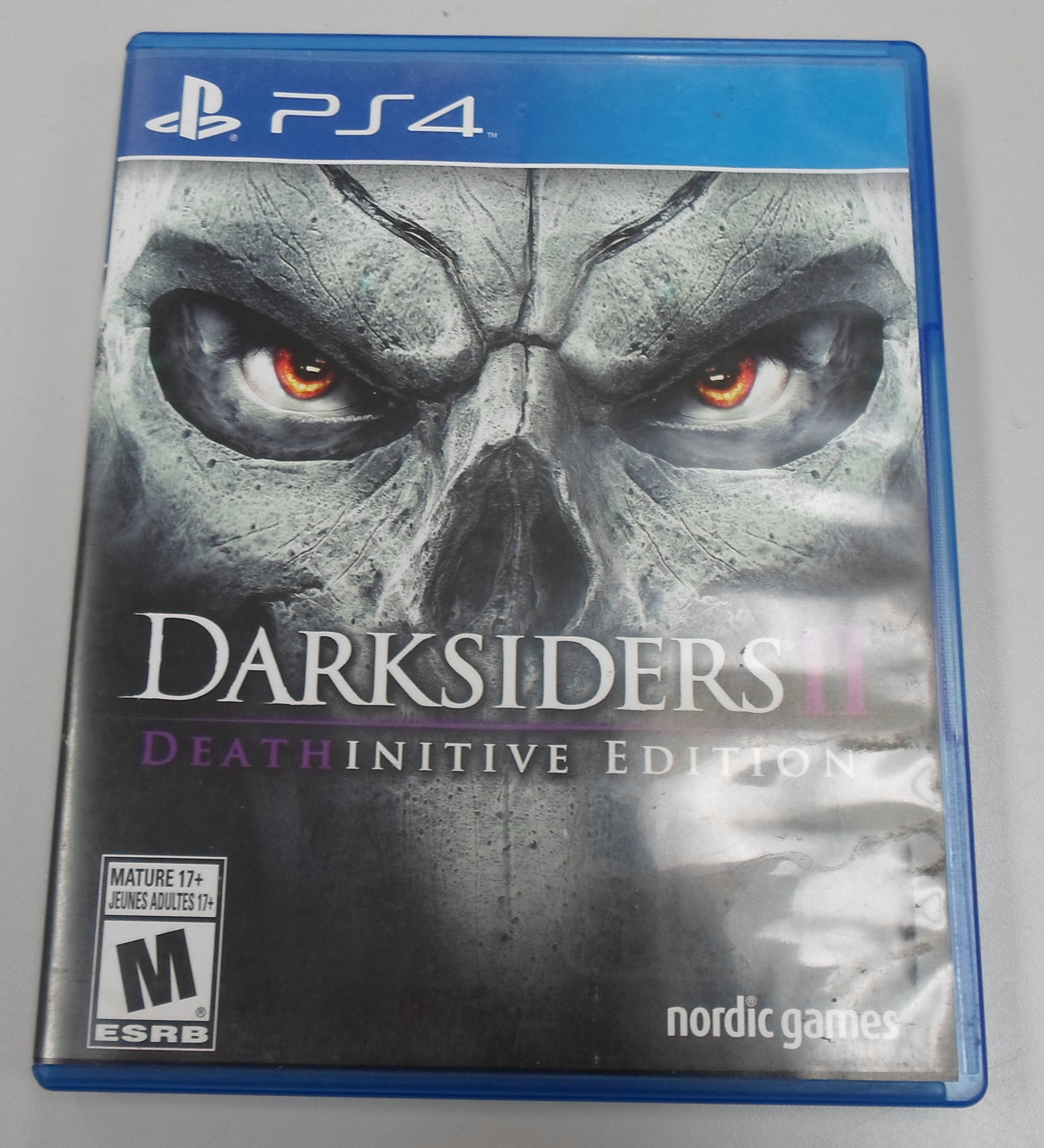 DARKSIDERS 2 DEATHINITIVE EDITION - PLAYSTATION 4 GAME