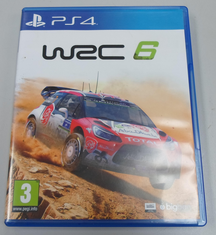 WRC 6  - PLAYSTATION 4 GAME