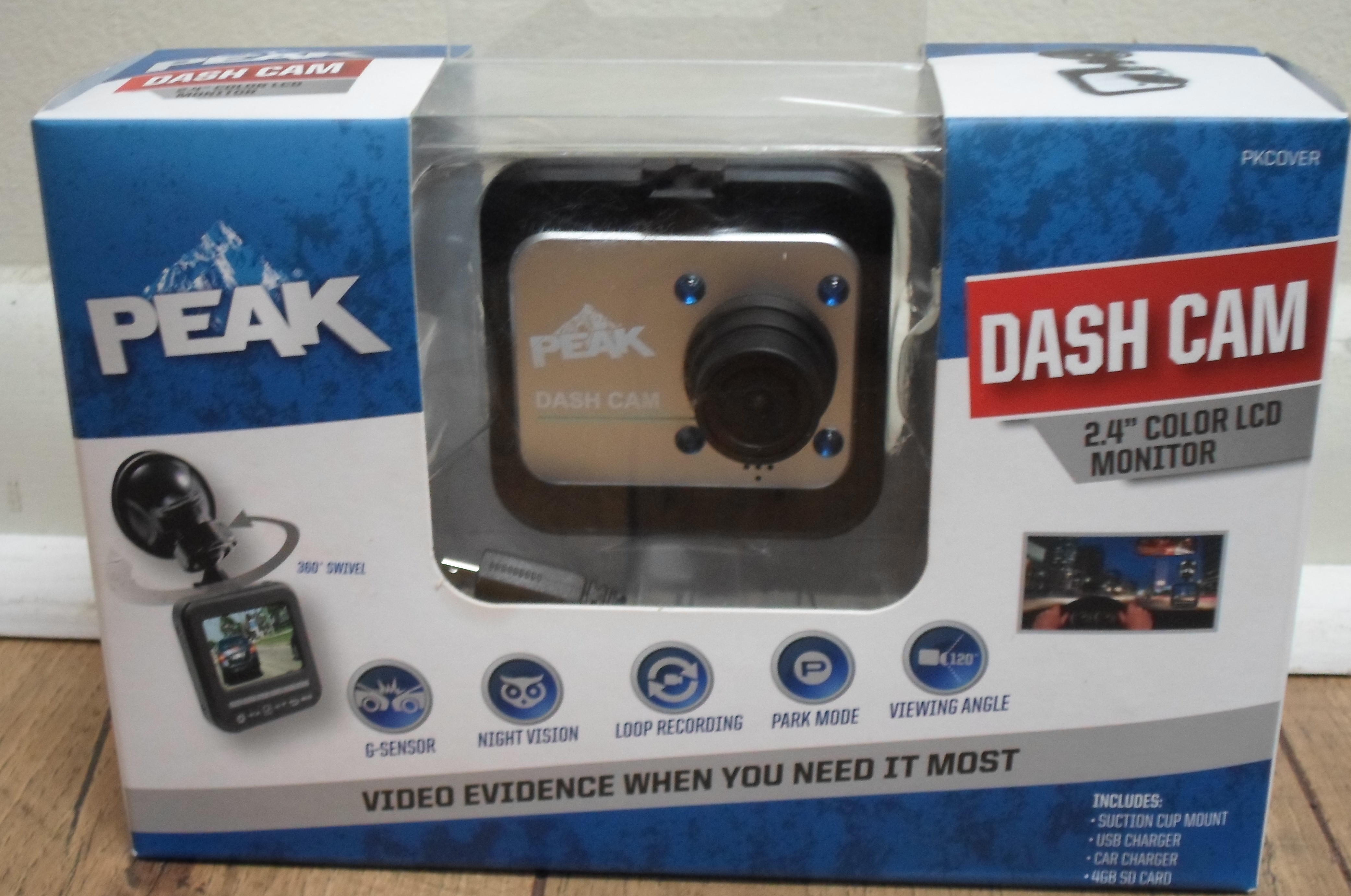 PEAK - DASH CAM