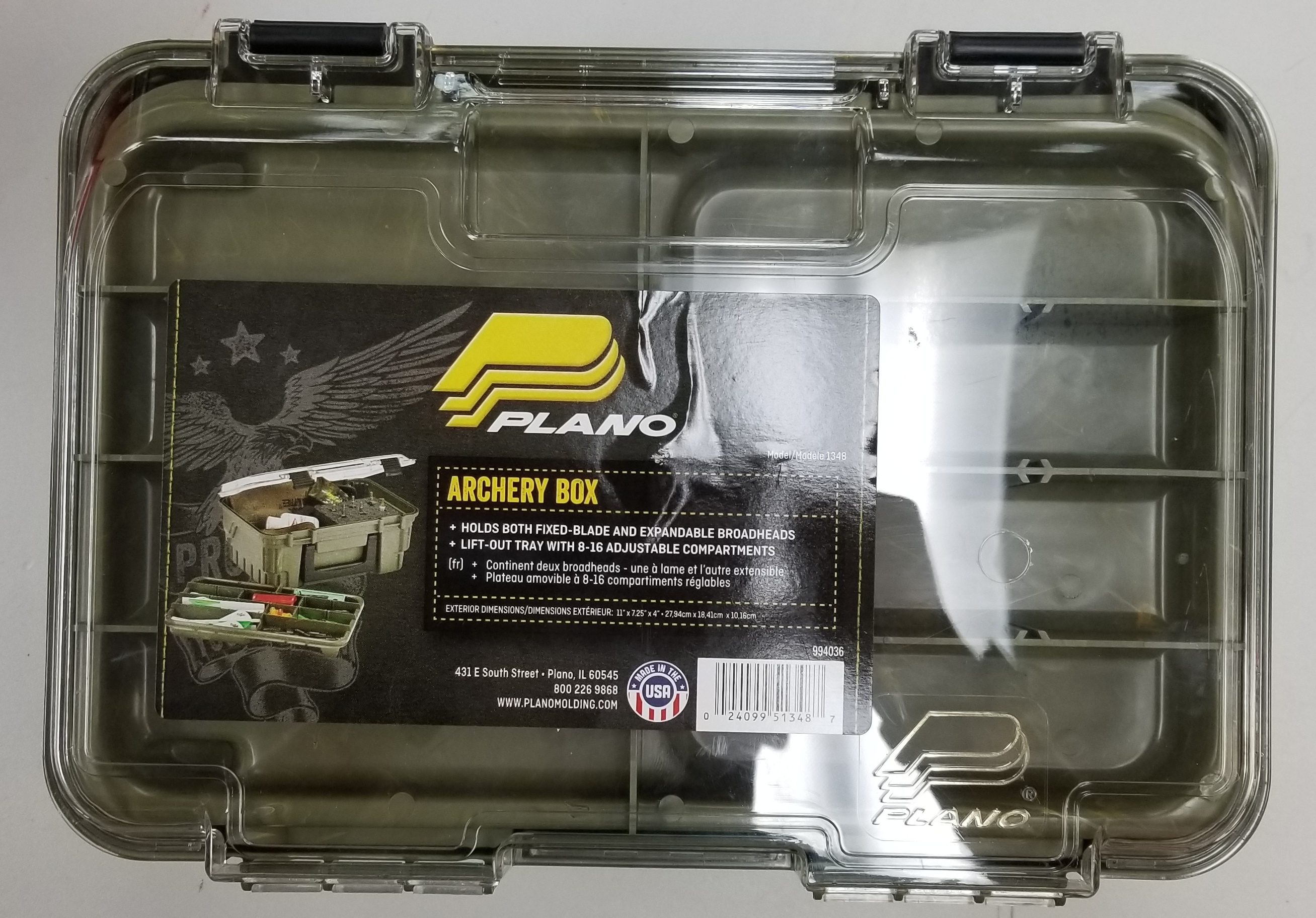 PLANO - ARCHERY BOX - TACKLE BOX SPORTING EQUIPMENT
