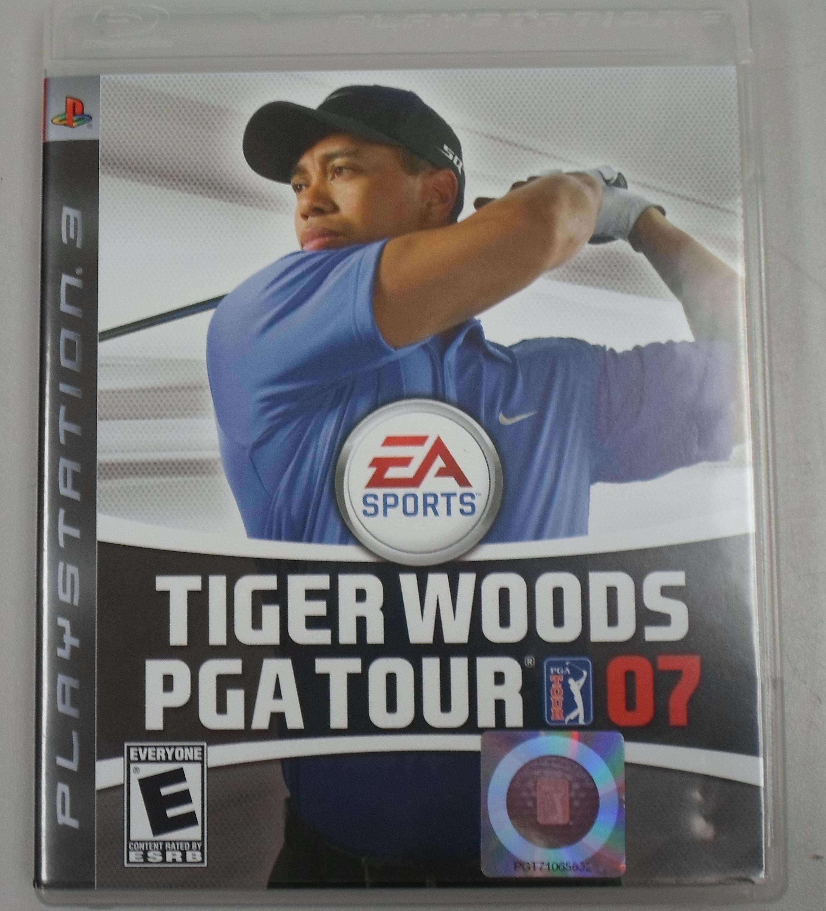 PLAYSTATION 3 GAME TIGER WOODS PGA TOUR 07
