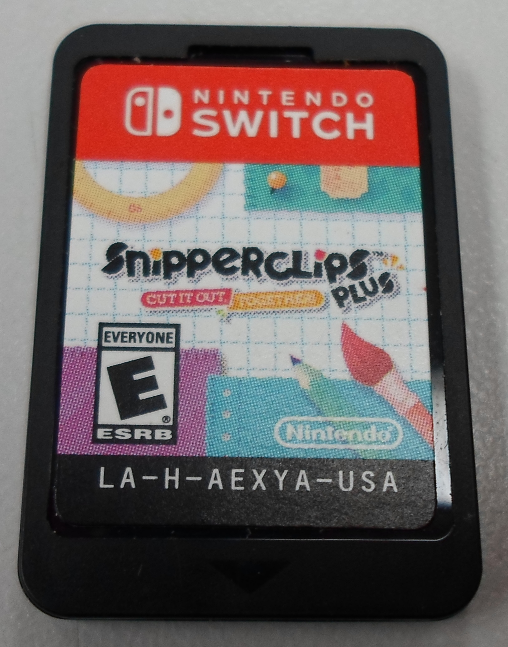 SNIPPERCLIPS PLUS  - NINTENDO SWITCH GAME