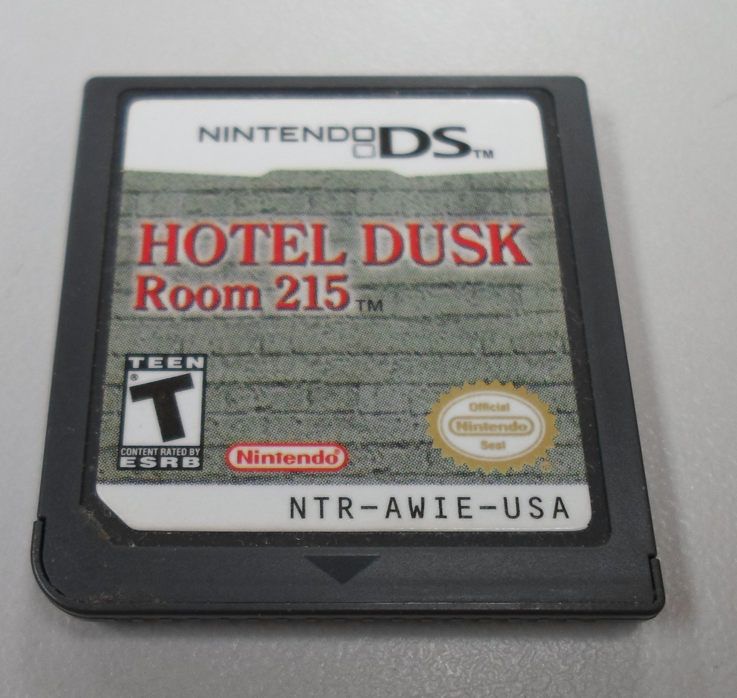 HOTEL DUSK TIL DAWN ROOM 215 - NINTENDO DS GAME