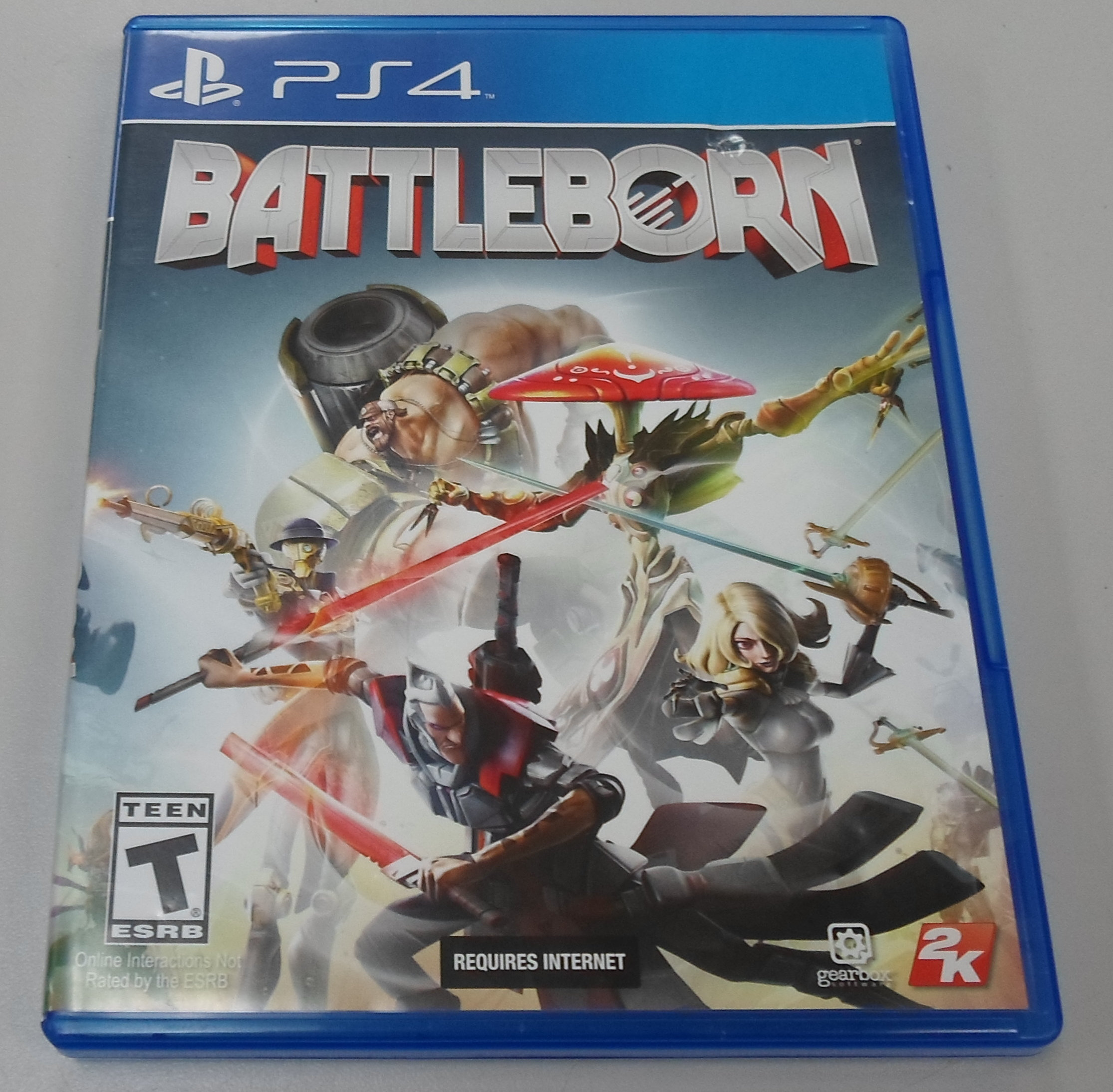 BATTLEBORN  - PS 4 GAME