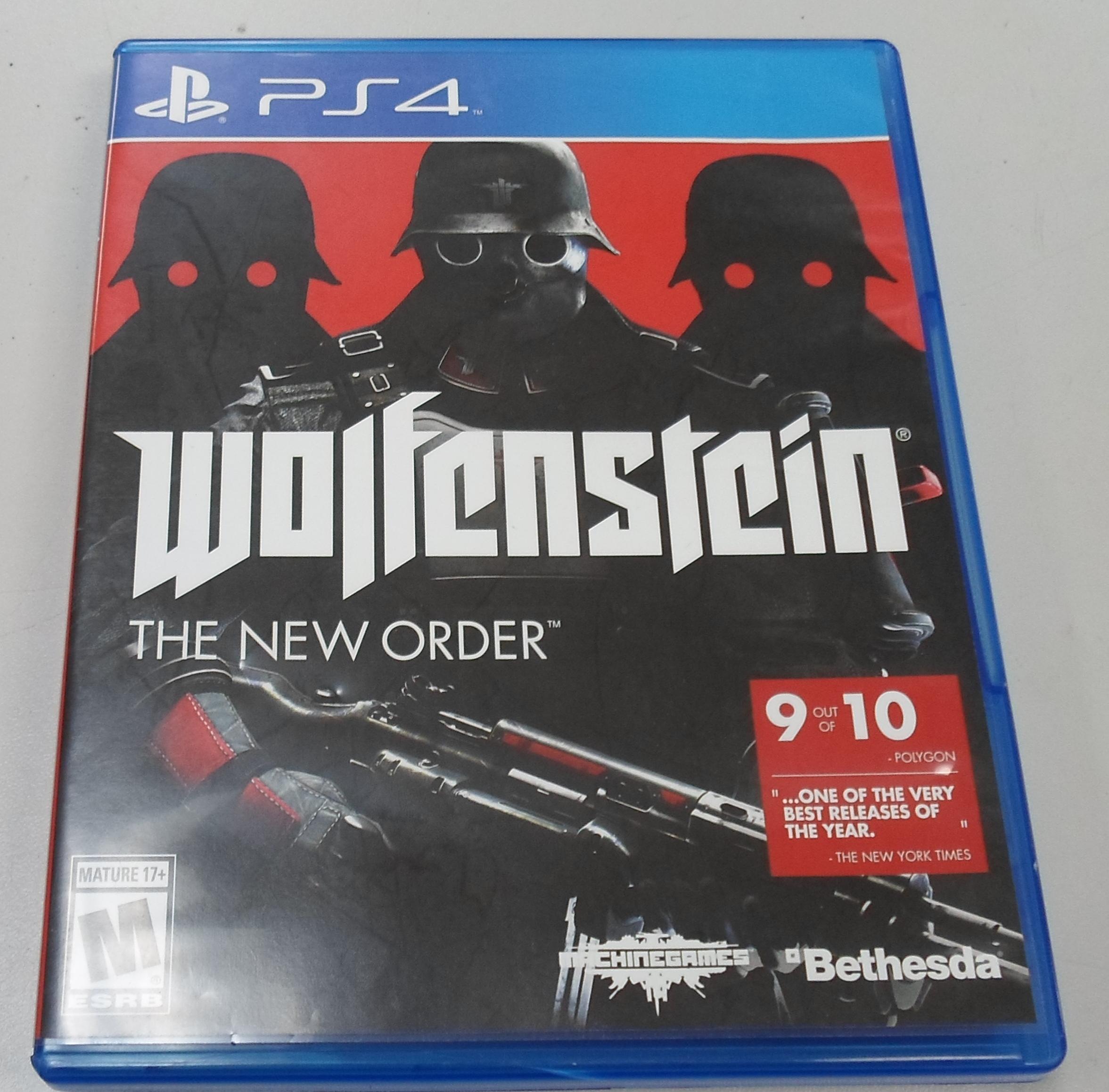 WOLFENSTEIN THE NEW ORDER  - PS 4 GAME