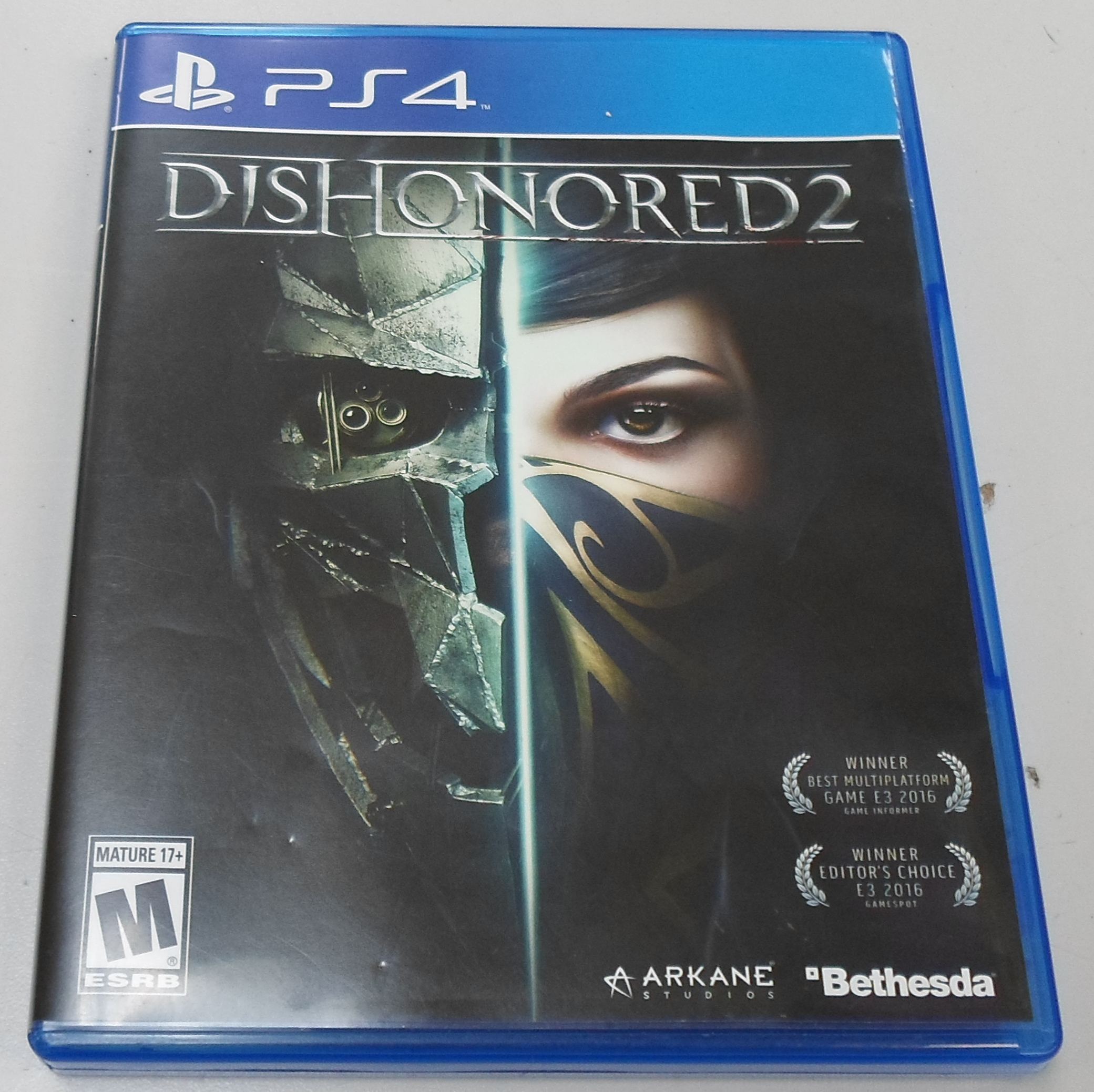 DISHONORED 2 - PS 4 GAME