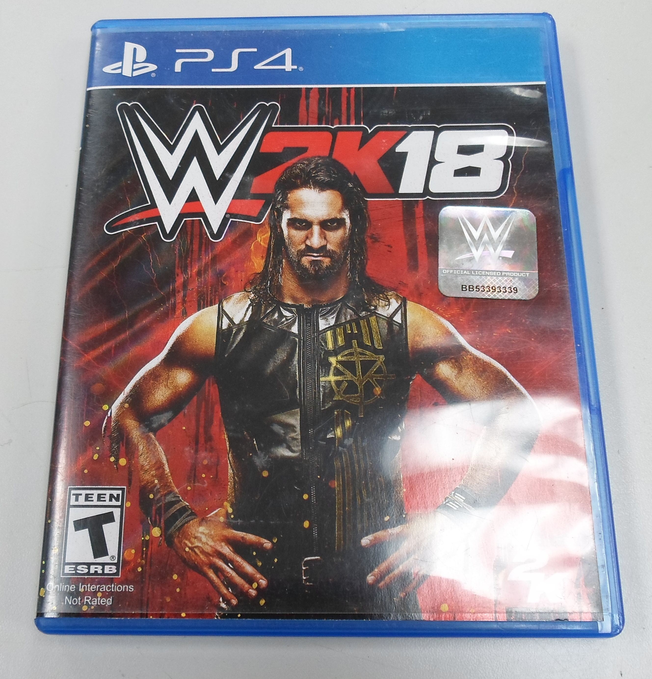 WWE2K18 - PS 4 GAME