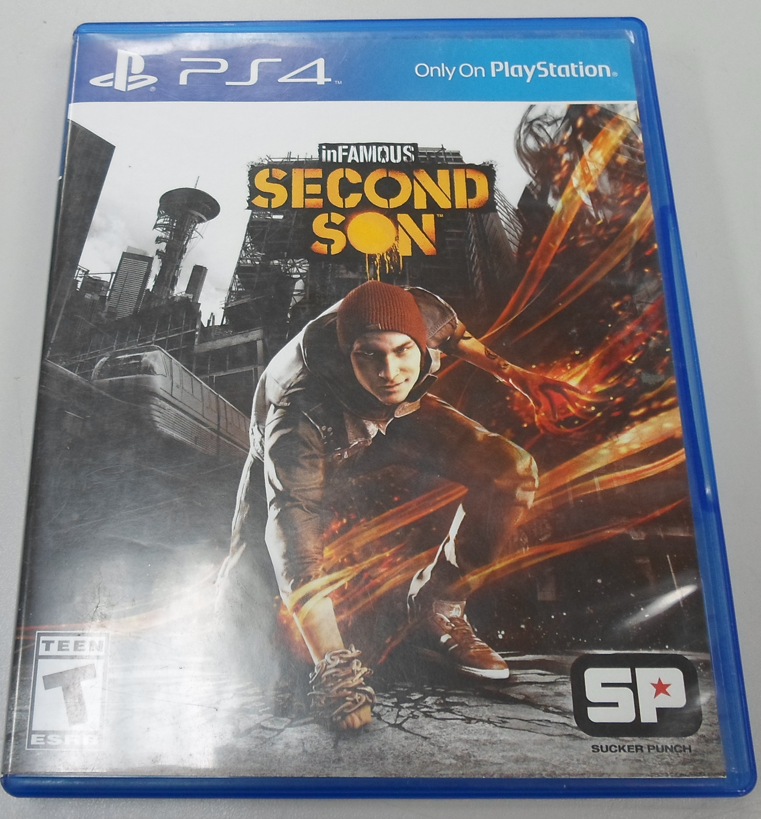 INFAMOUS SECOND SON  - PS 4 GAME