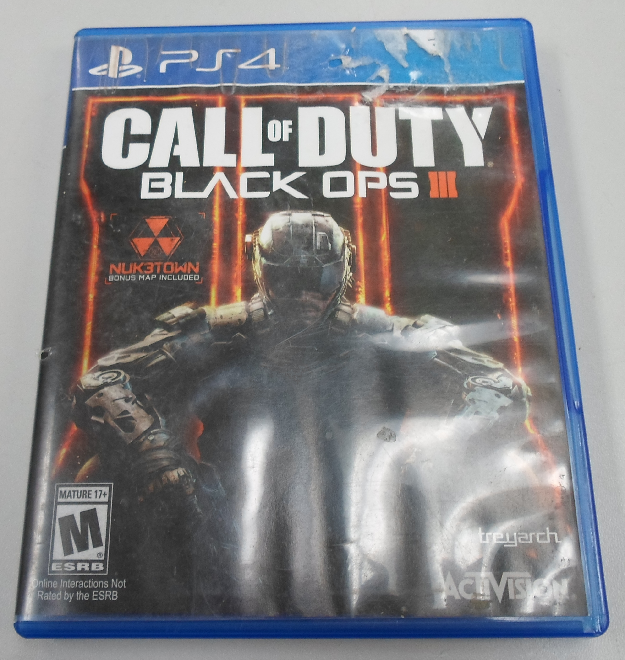 CALL OF DUTY BLACK OPS 3 - PS 4 GAME